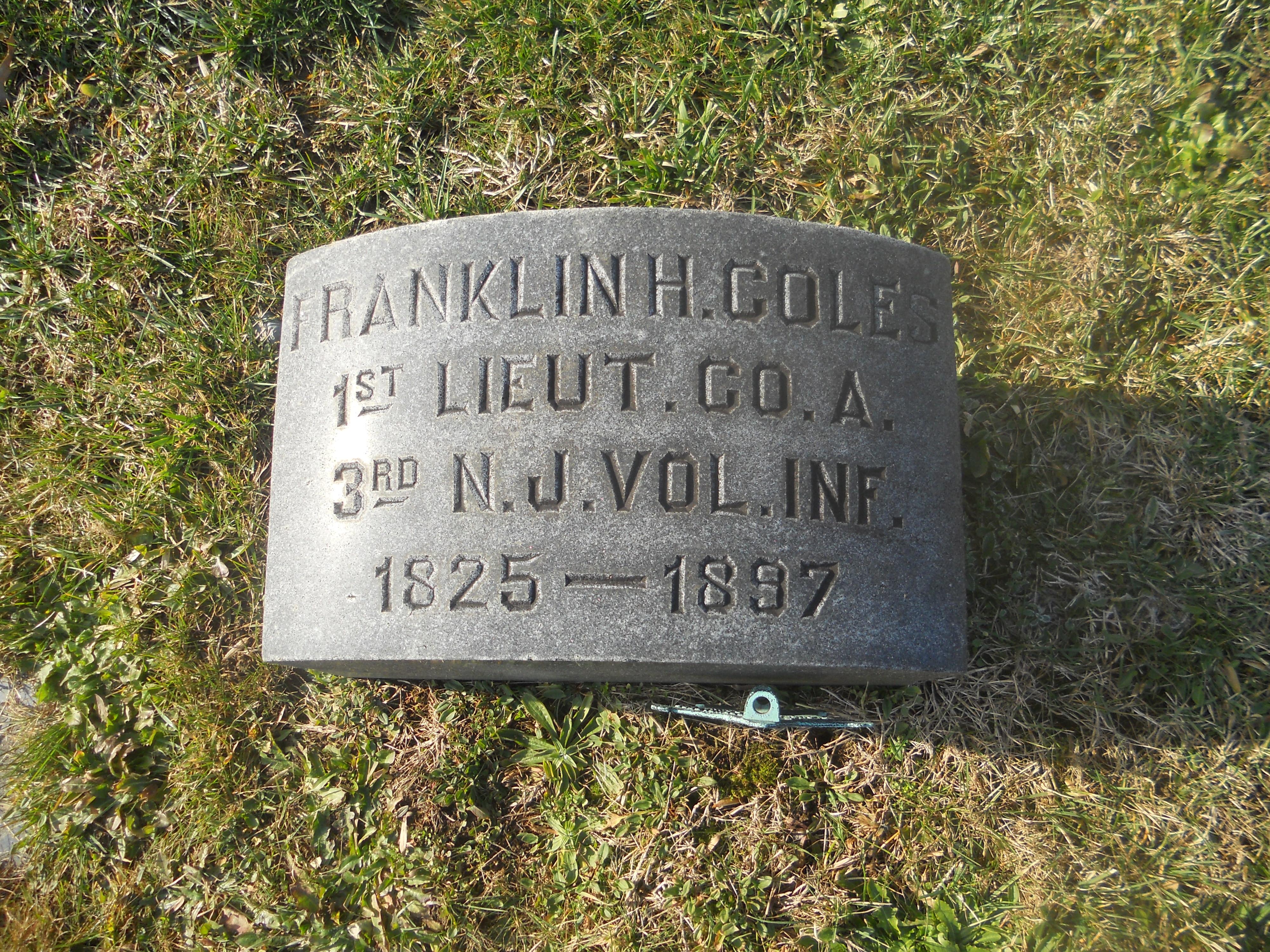 Lieut Franklin H. Coles