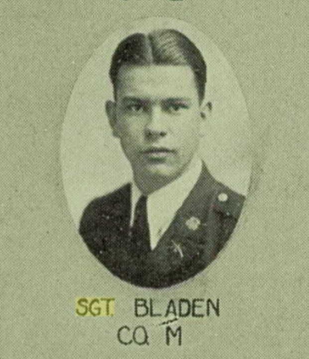Sgt Calvin Thomas Bladen