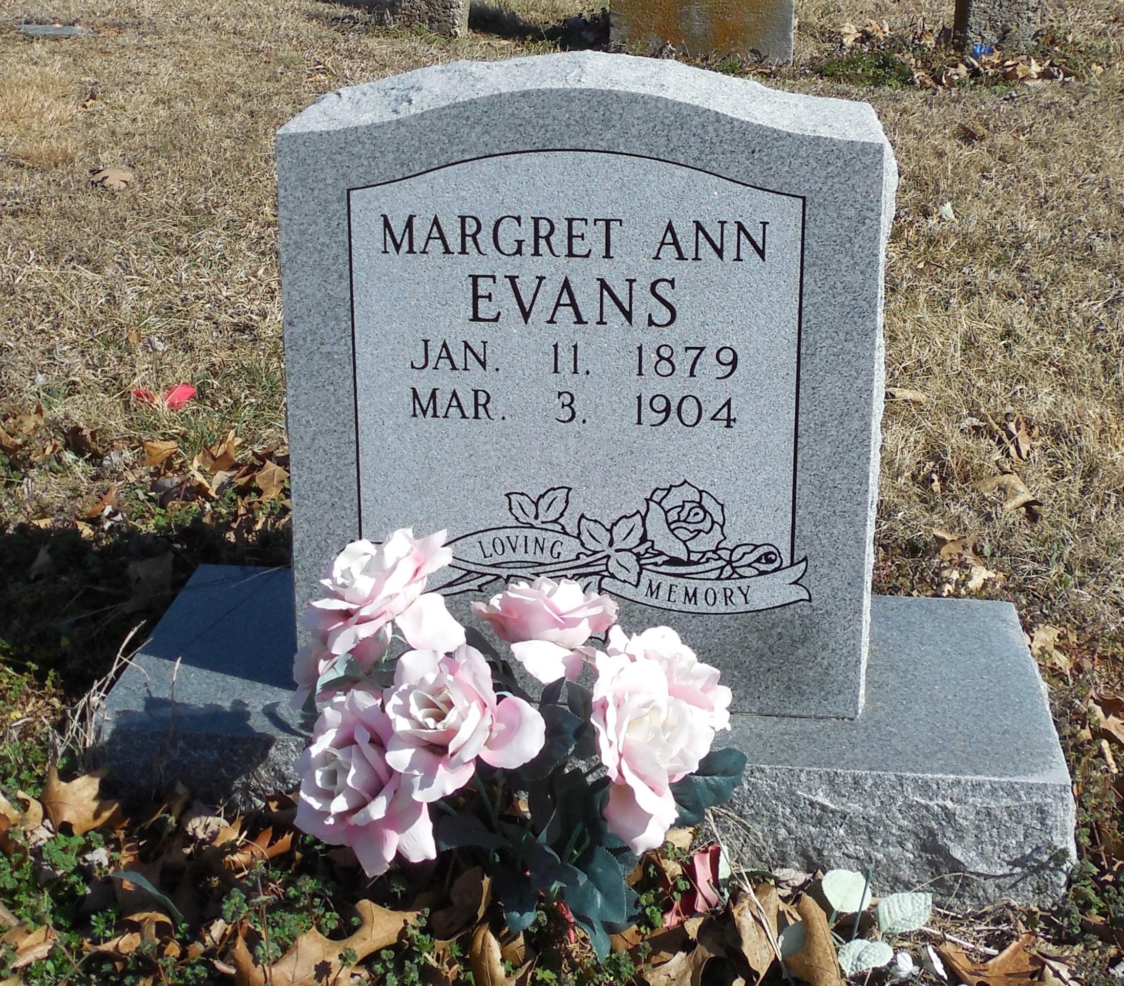 Margaret Ann Evans