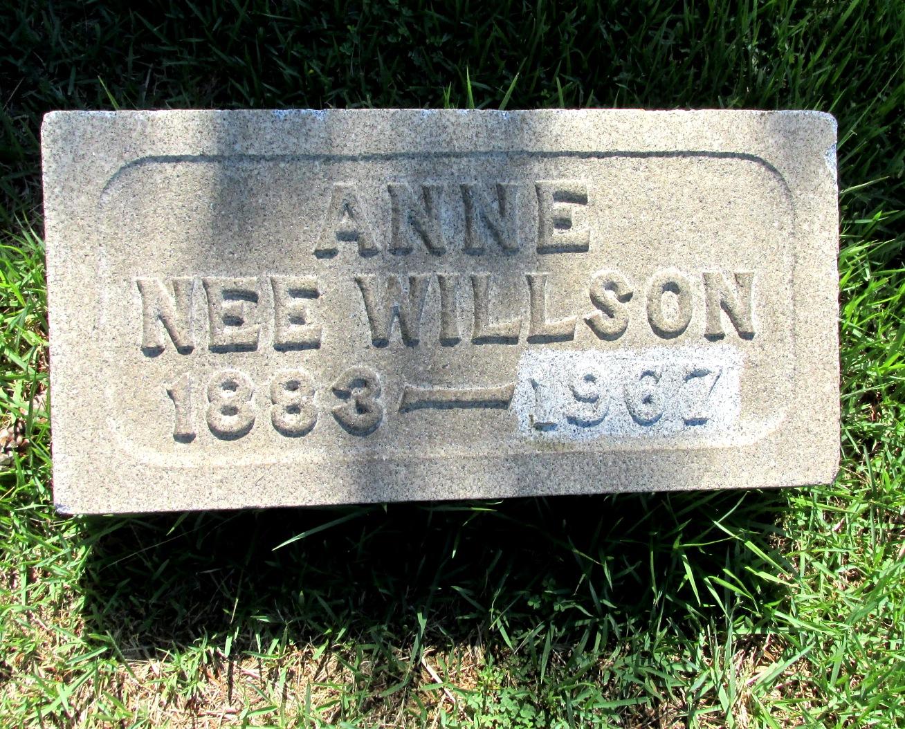 Anne <i>Willson</i> Pumphrey