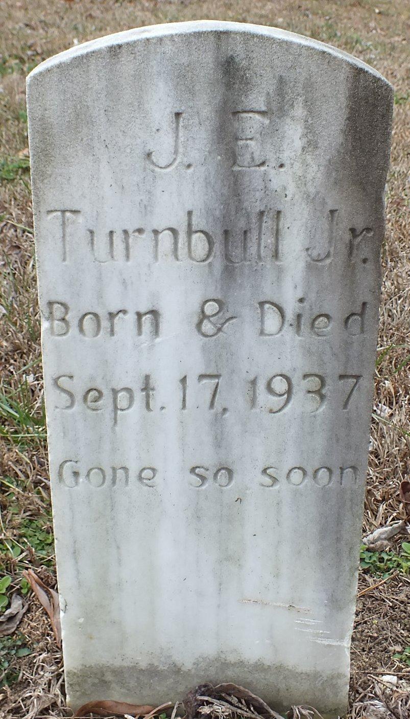 John Edward Turnbull, Jr (1937-1937) - Find A Grave Memorial