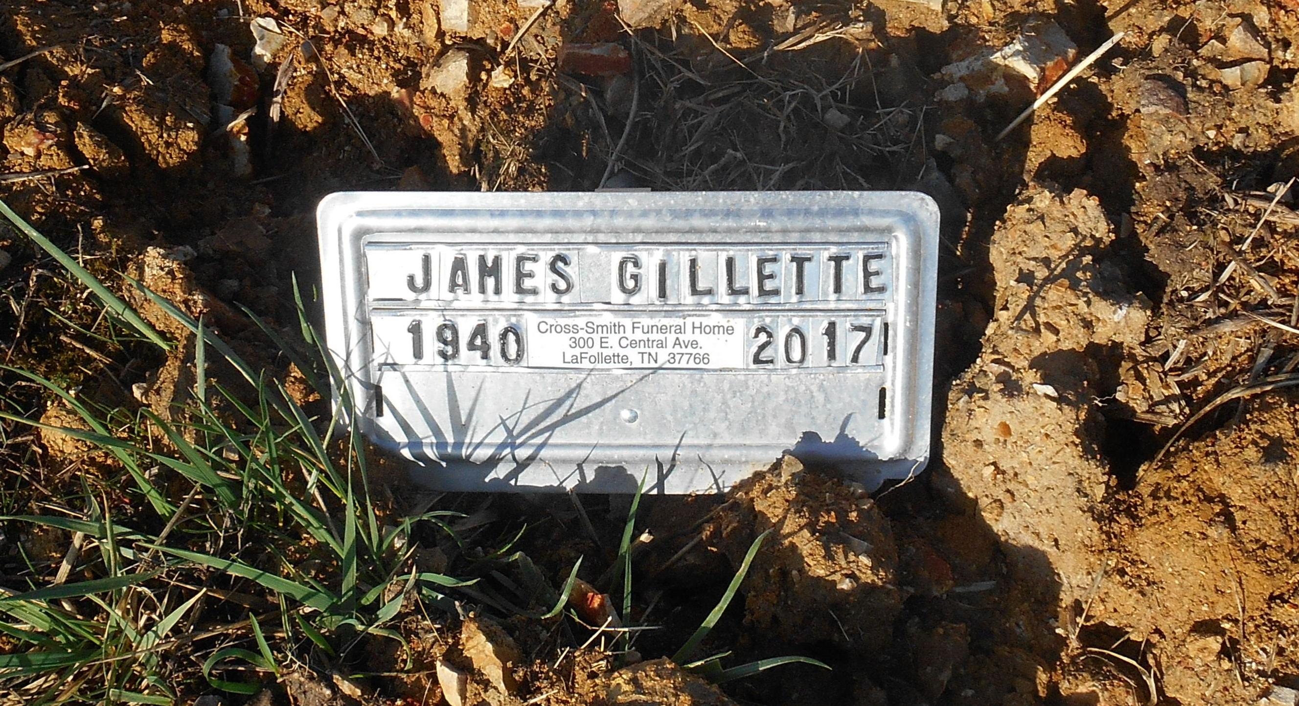James Clifford Gillette 1940 2017 Find A Grave Memorial