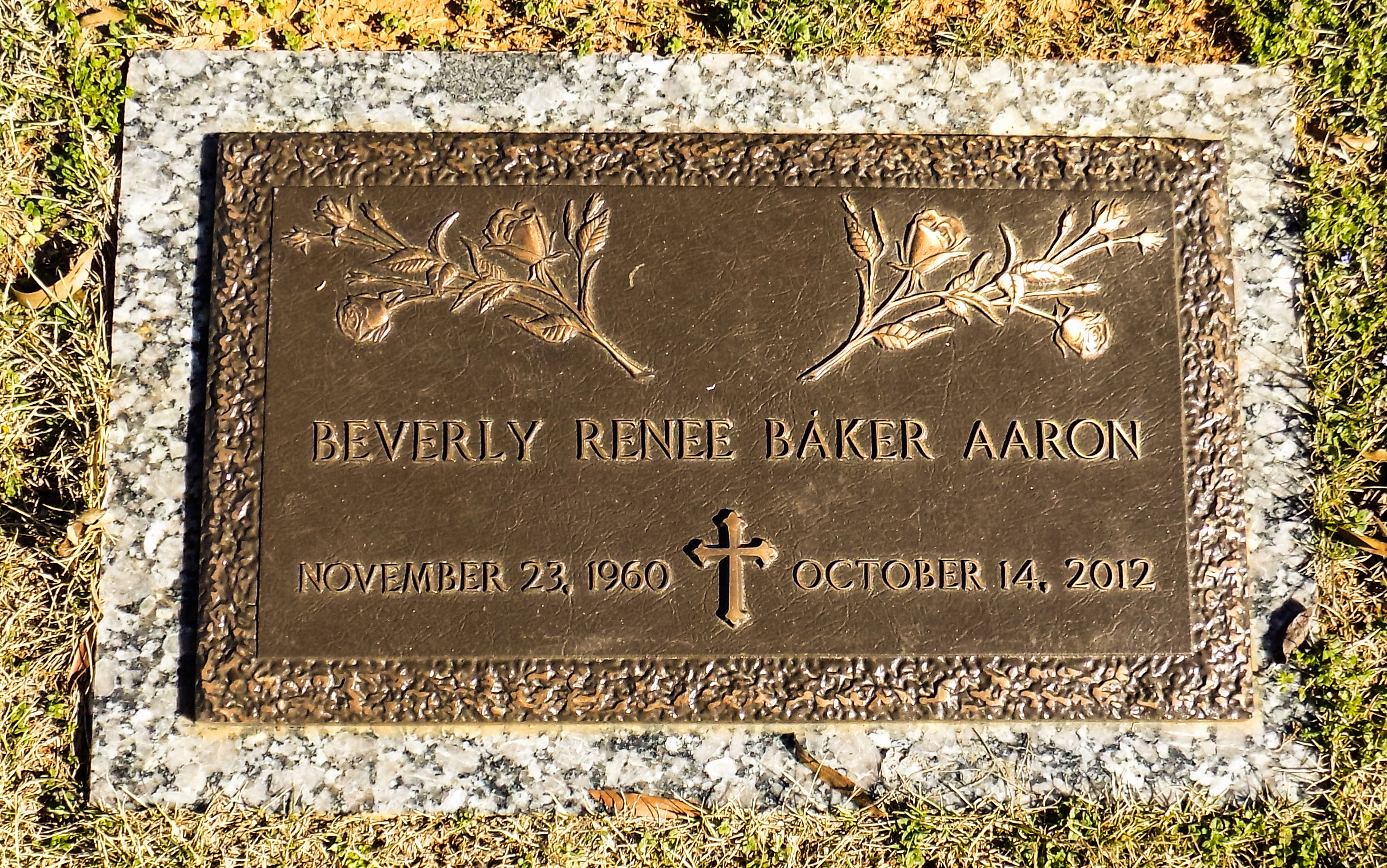 Beverly Rene' <i>Baker</i> Aaron