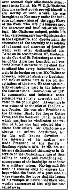 William Charles Cole Claiborne, Jr