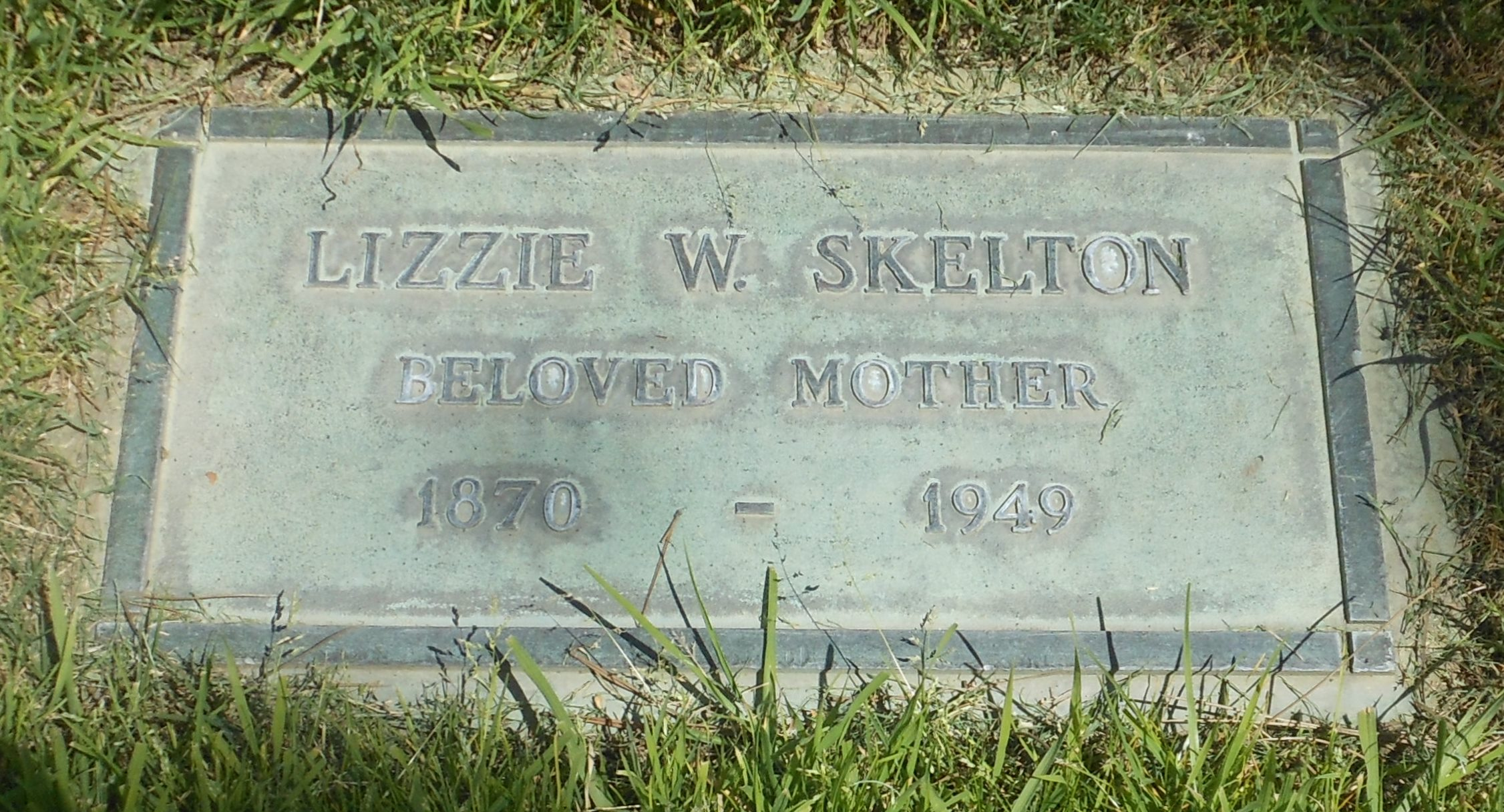 Lizzie <i>Whitaker</i> Skelton