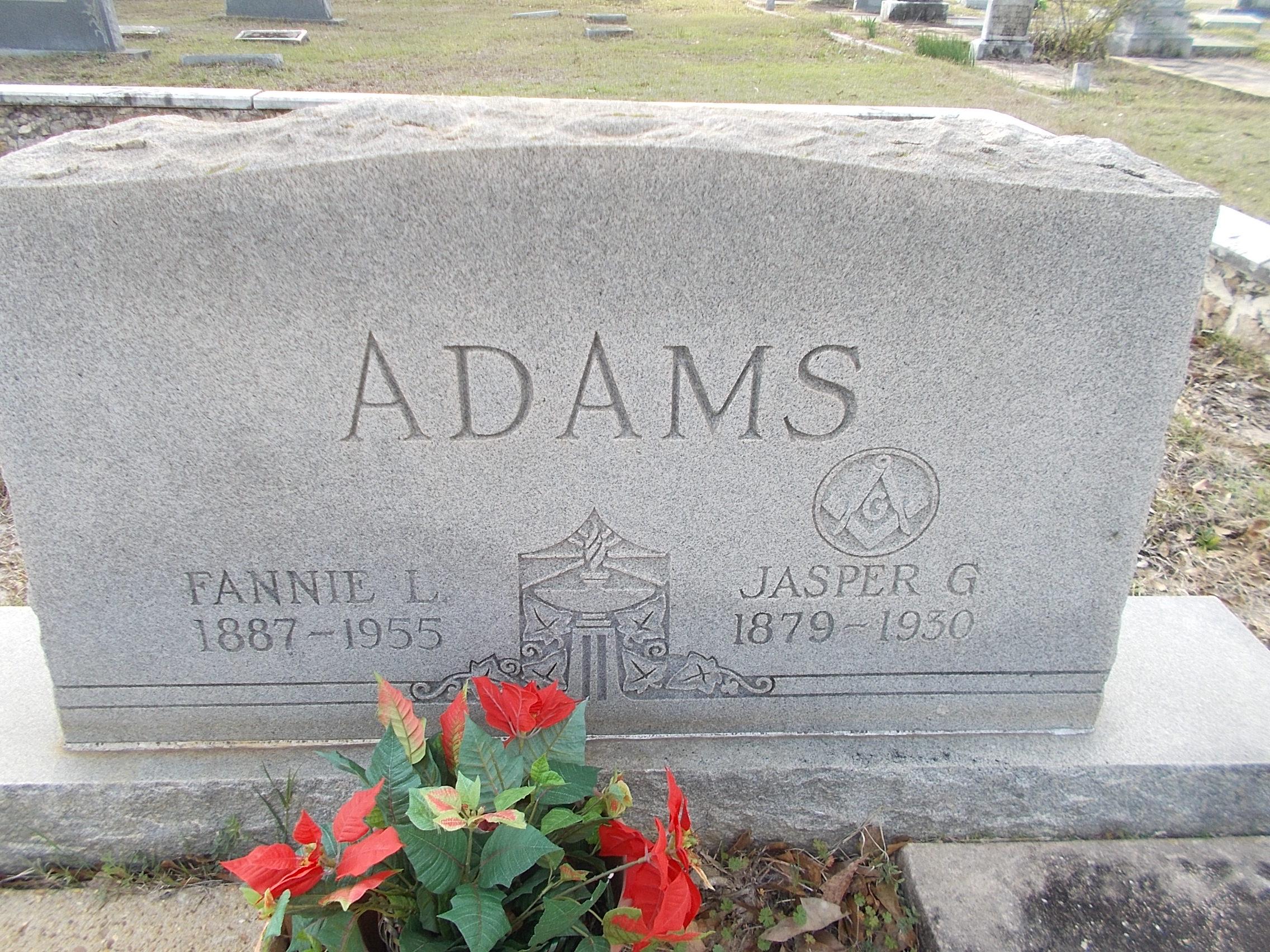 Jasper Greene. Adams
