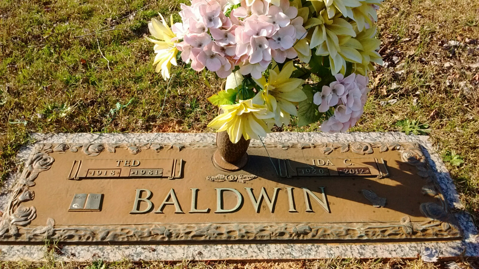 Ida Elizabeth <i>Cannon</i> Baldwin