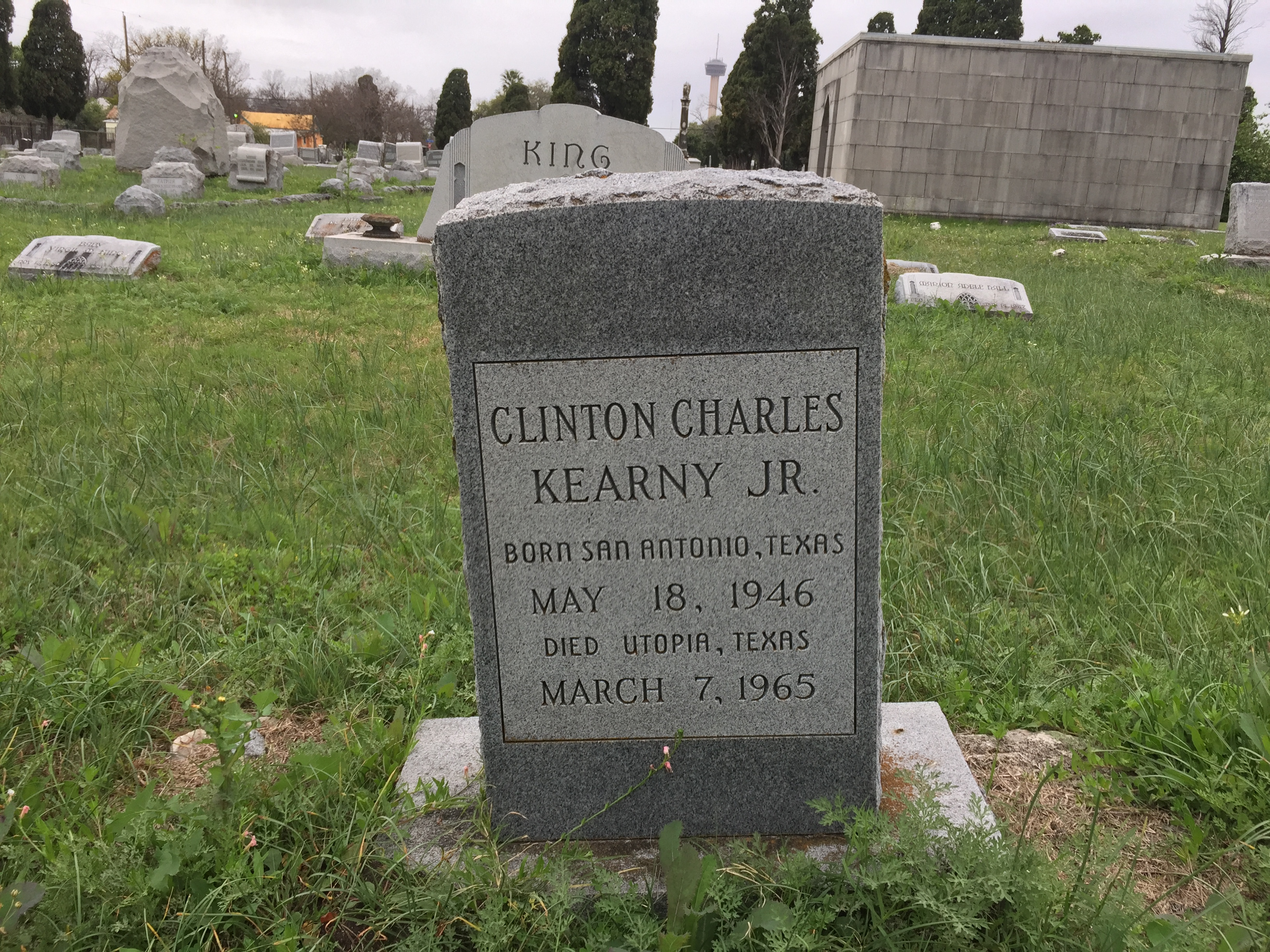 Clinton Charles Junior Kearny