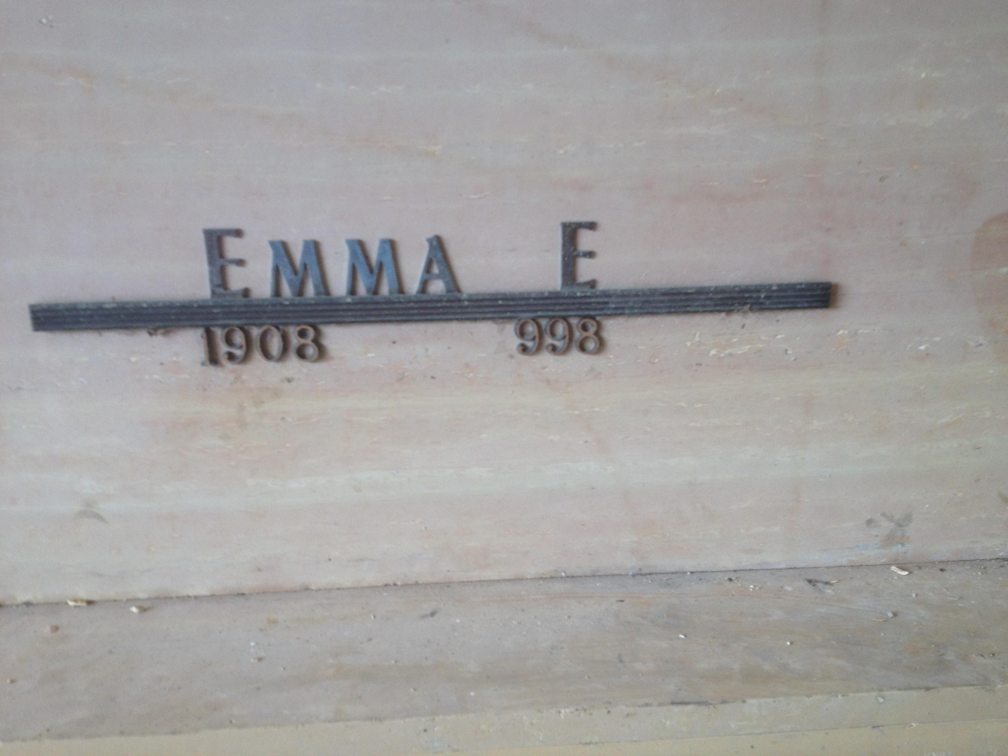 Emma E Roberts