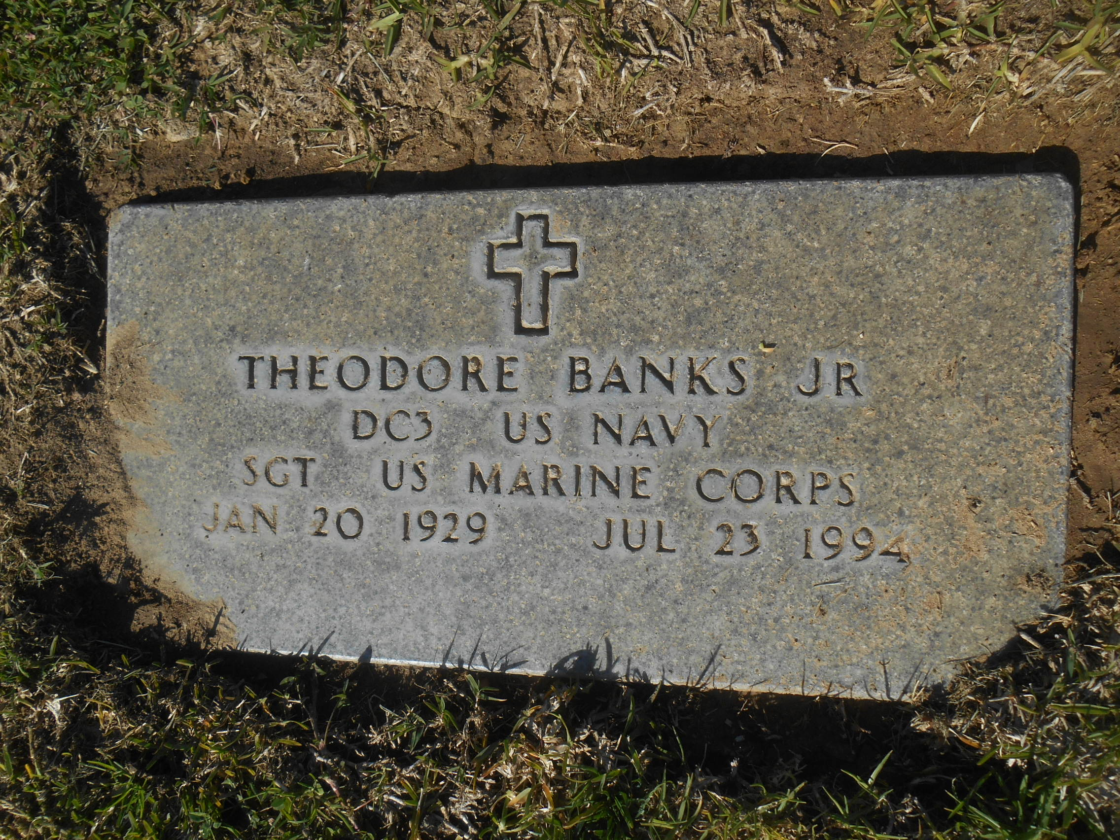 PFC Theodore Banks, Jr