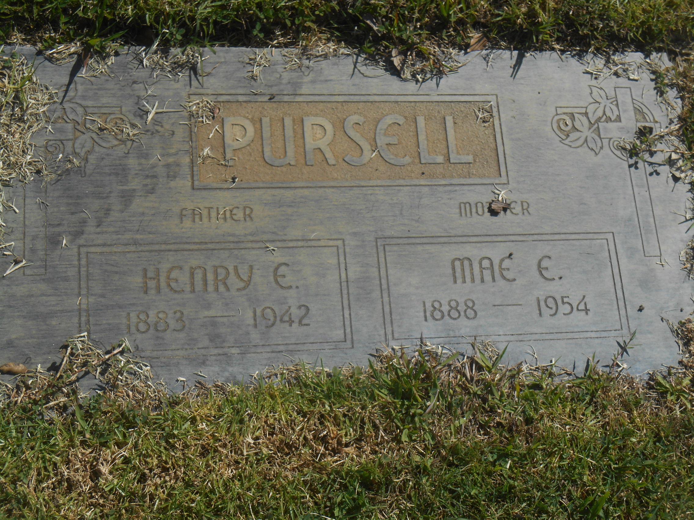 Mary Eleanor Mae <i>Kiely</i> Pursell