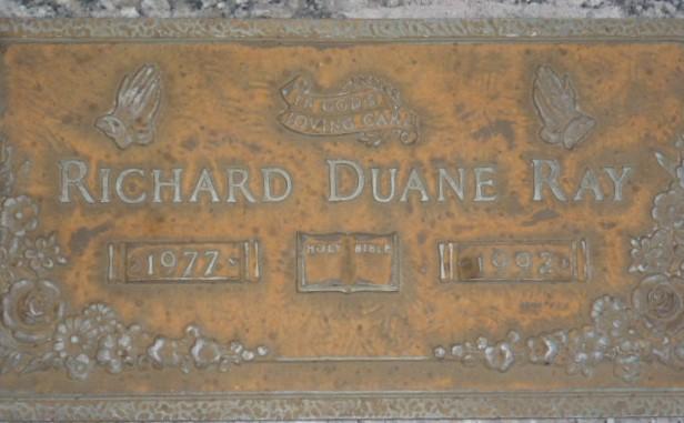 Richard Duane Ricky Ray