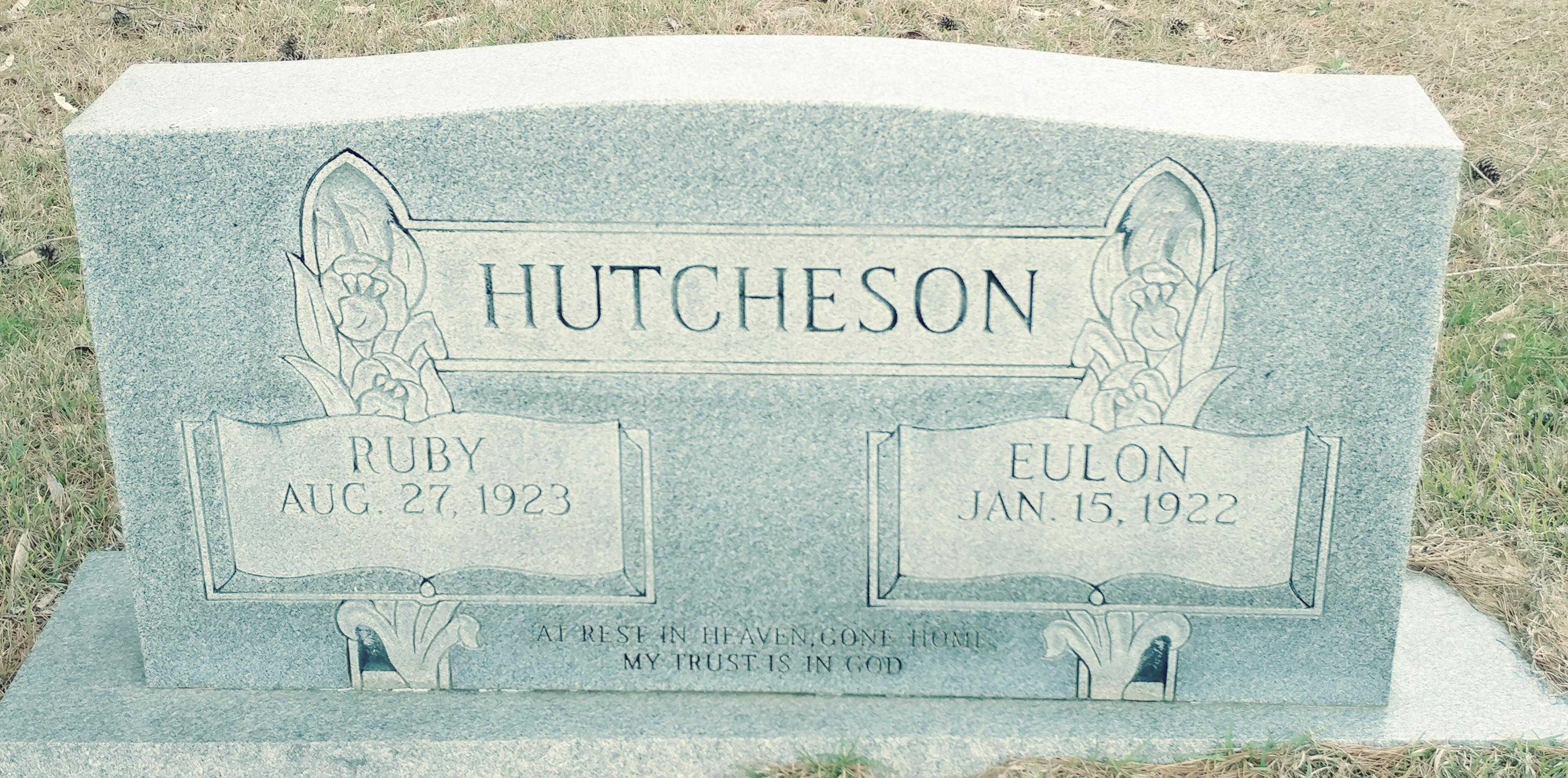 Ruby Olene <i>Mitchell</i> Hutcheson