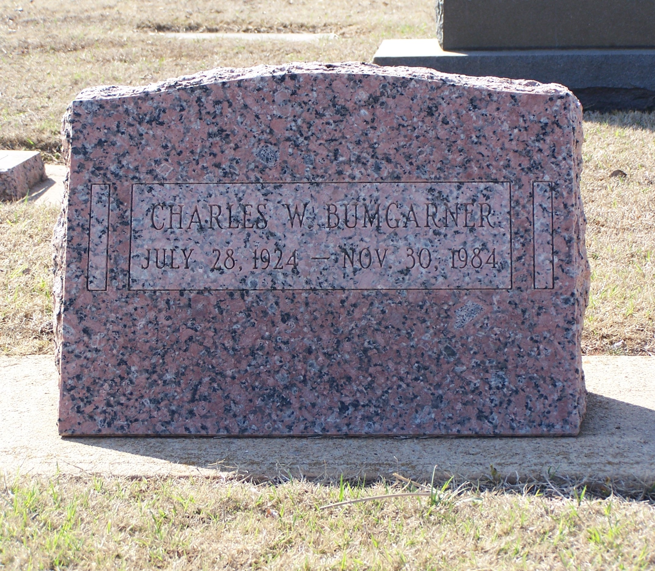 Charles Warren Bumgarner (1924 - 1984) - Find A Grave Memorial