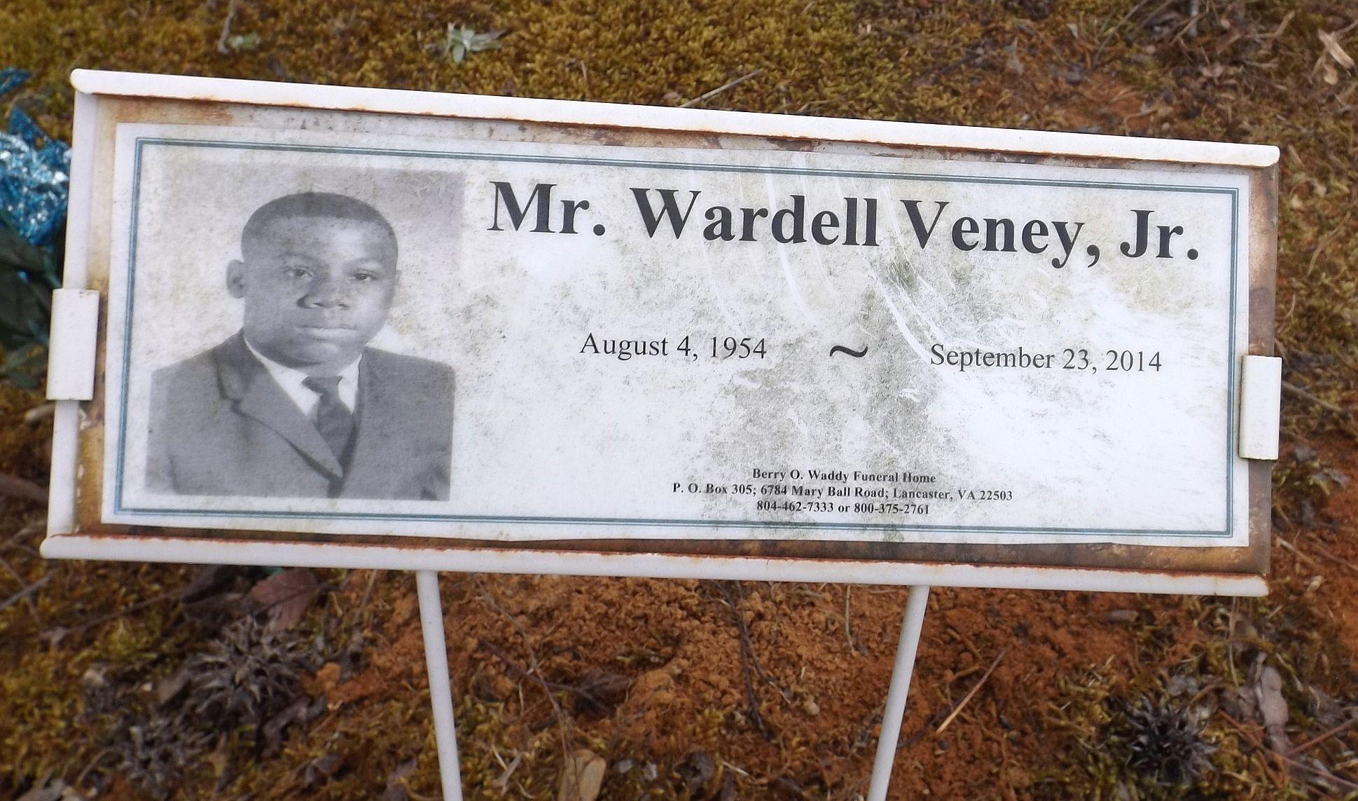 Wardell Junebug Veney Jr Find A Grave Memorial