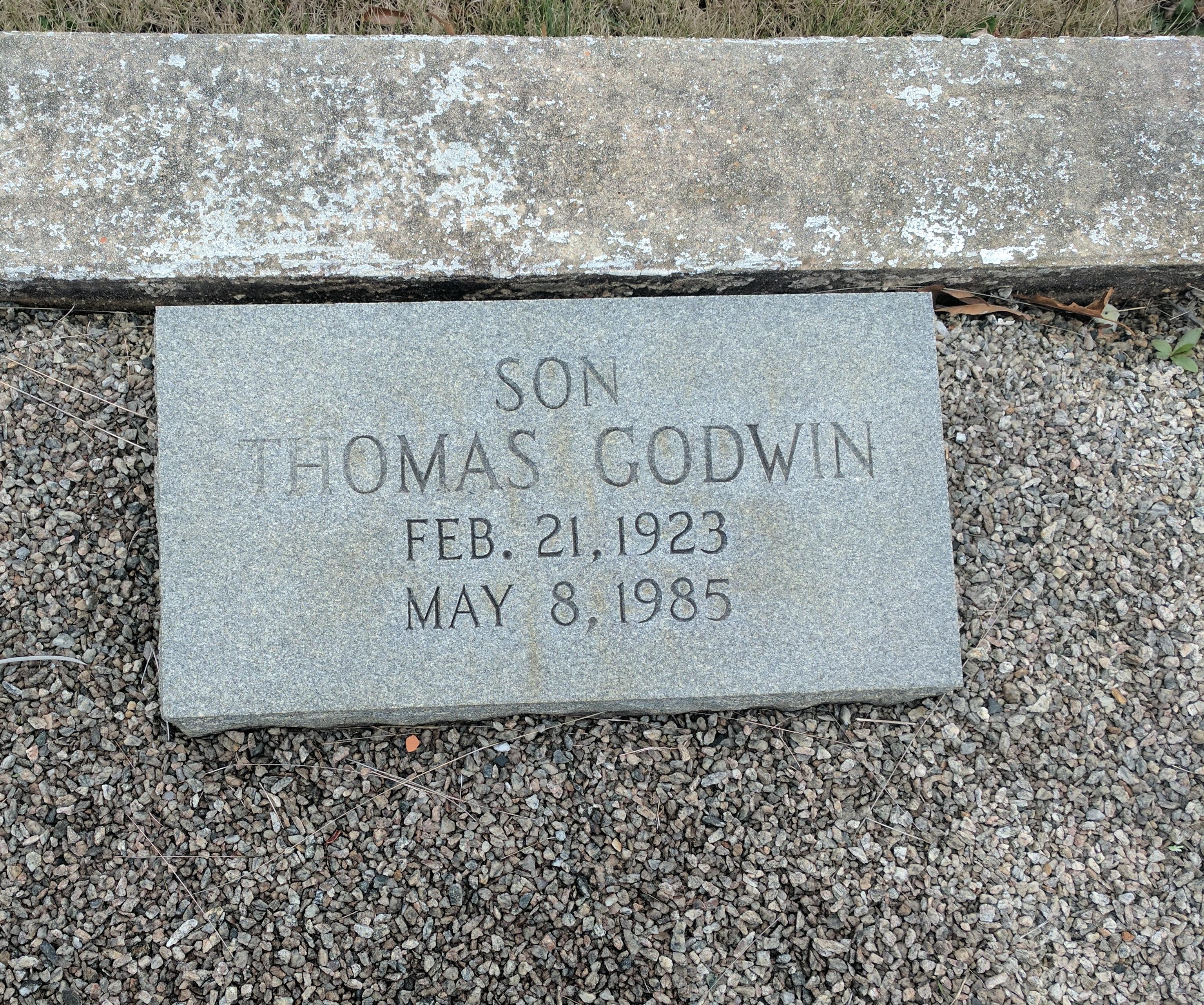 Thomas Godwin Alsobrook, II
