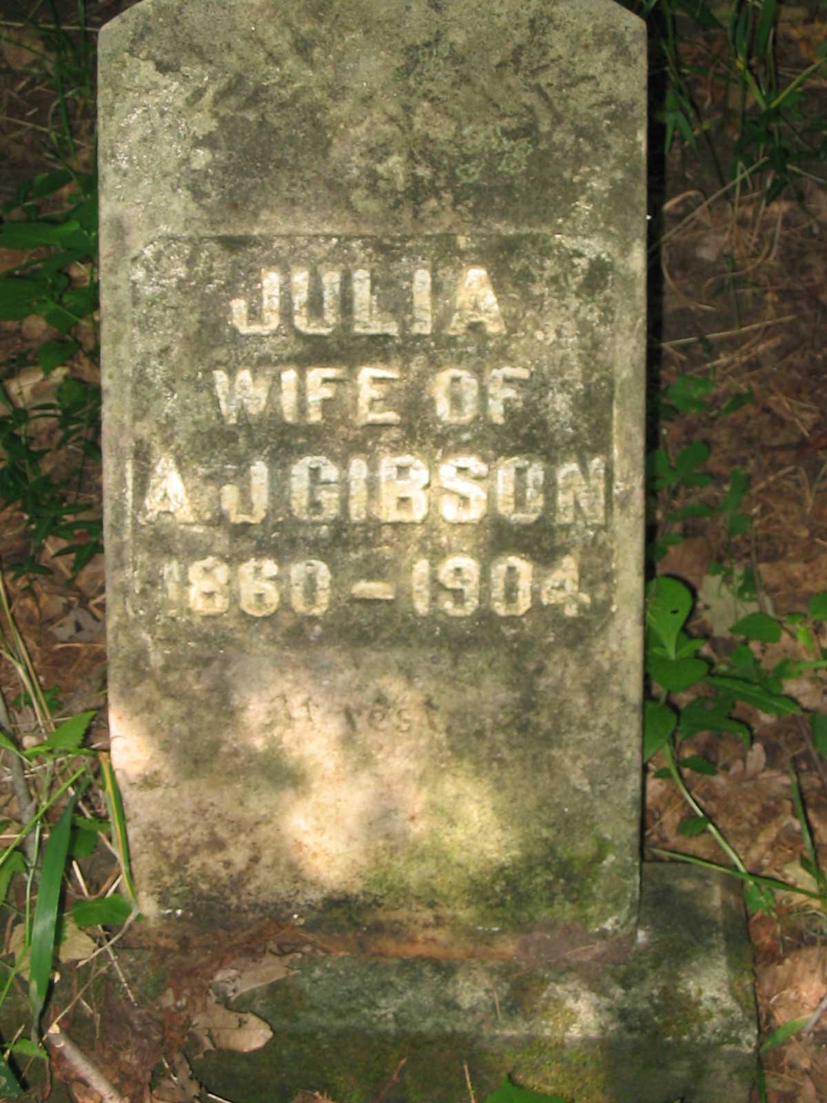 Julia Frances <i>Gue</i> Gibson