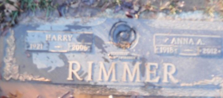Harry Rimmer, Sr