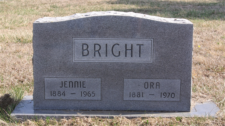 Jennie Lou <i>Pierce</i> Bright
