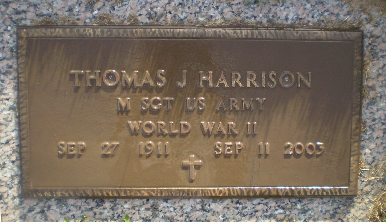 Thomas J Harrison