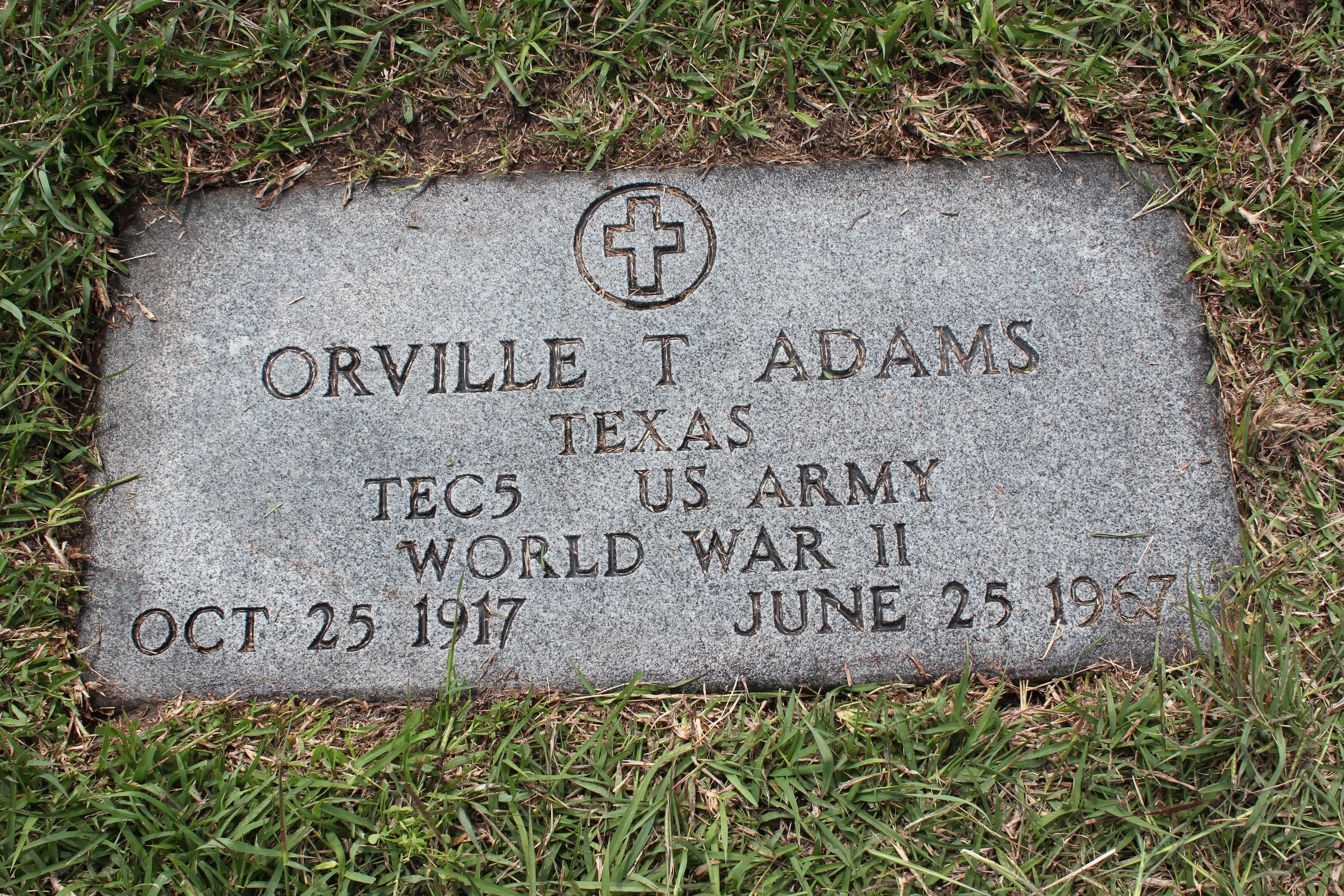 Orville Tilmon Adams