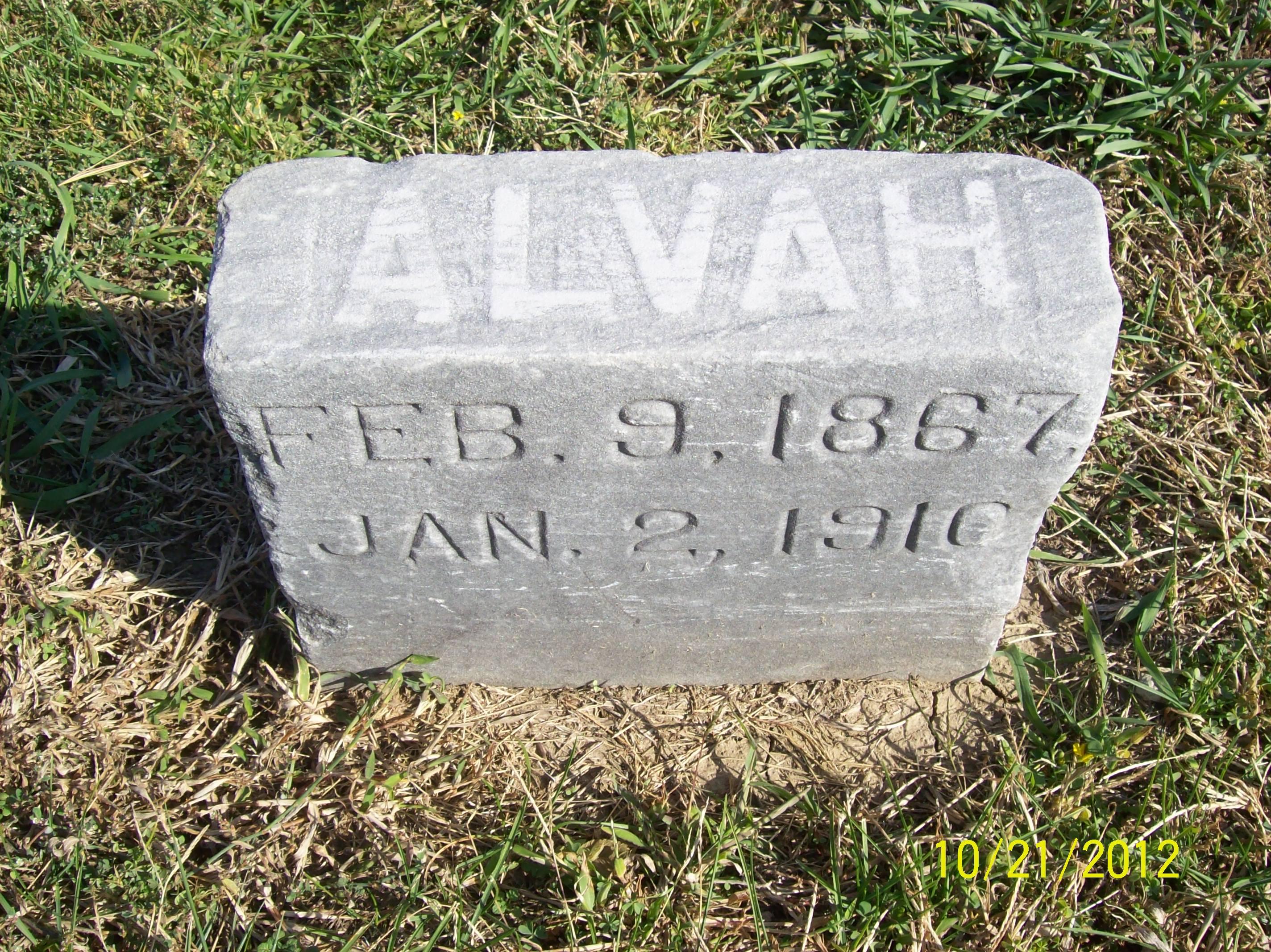 Alvah Newton Eisenbise