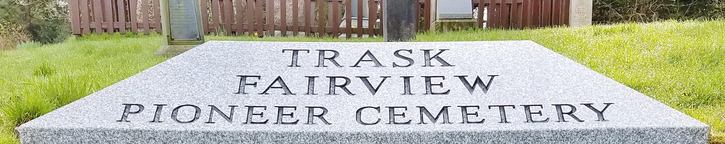 Fairview Pioneer Cemetery