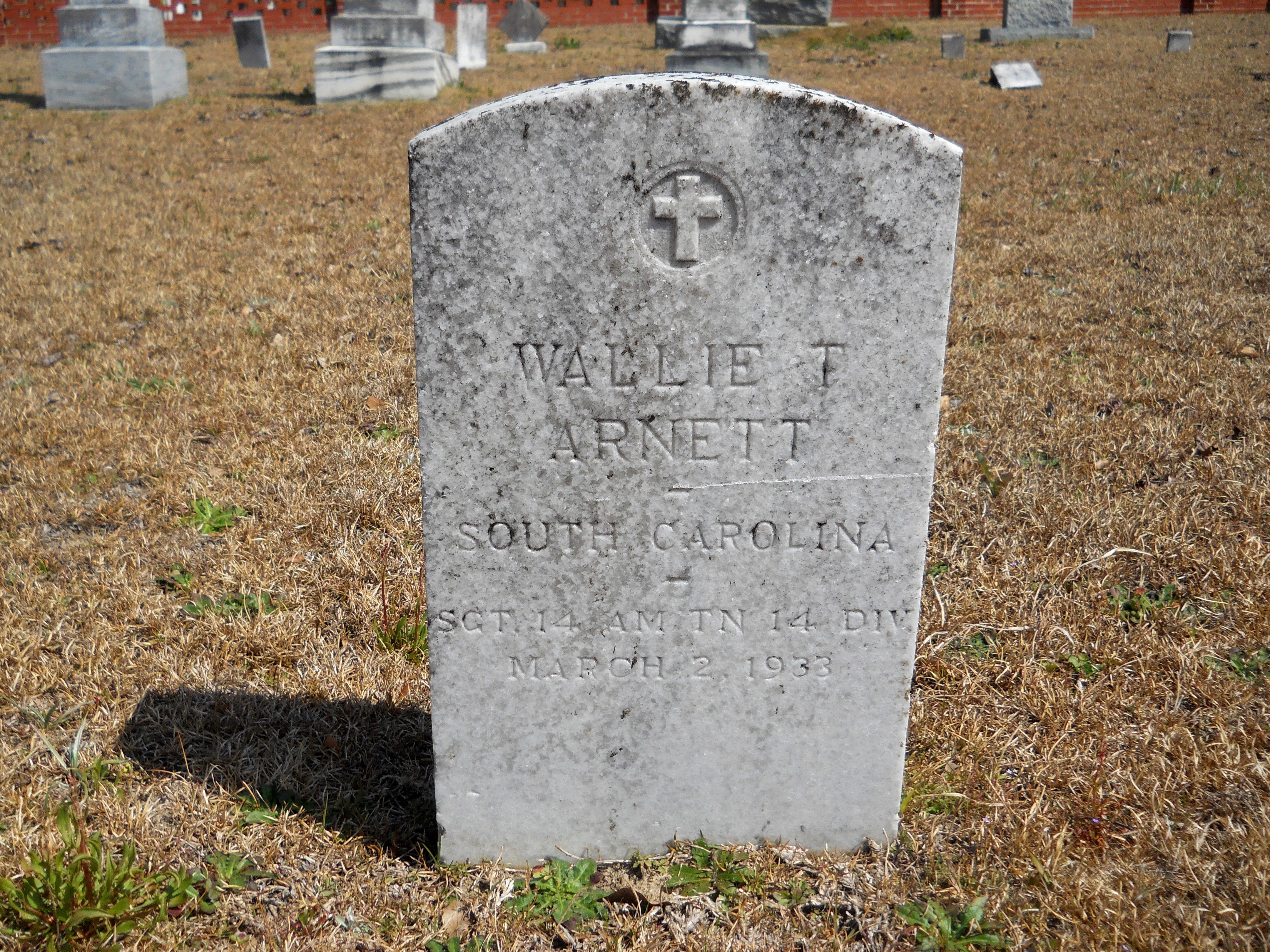 Wallie Thomas Arnett