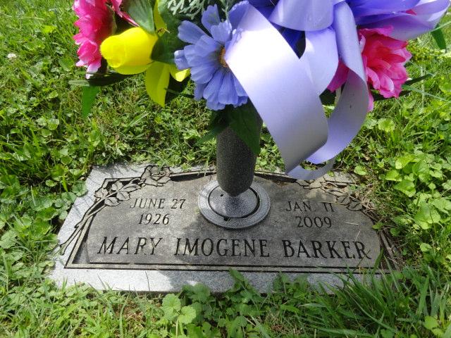 Mary Imogene <i>Nance</i> Barker