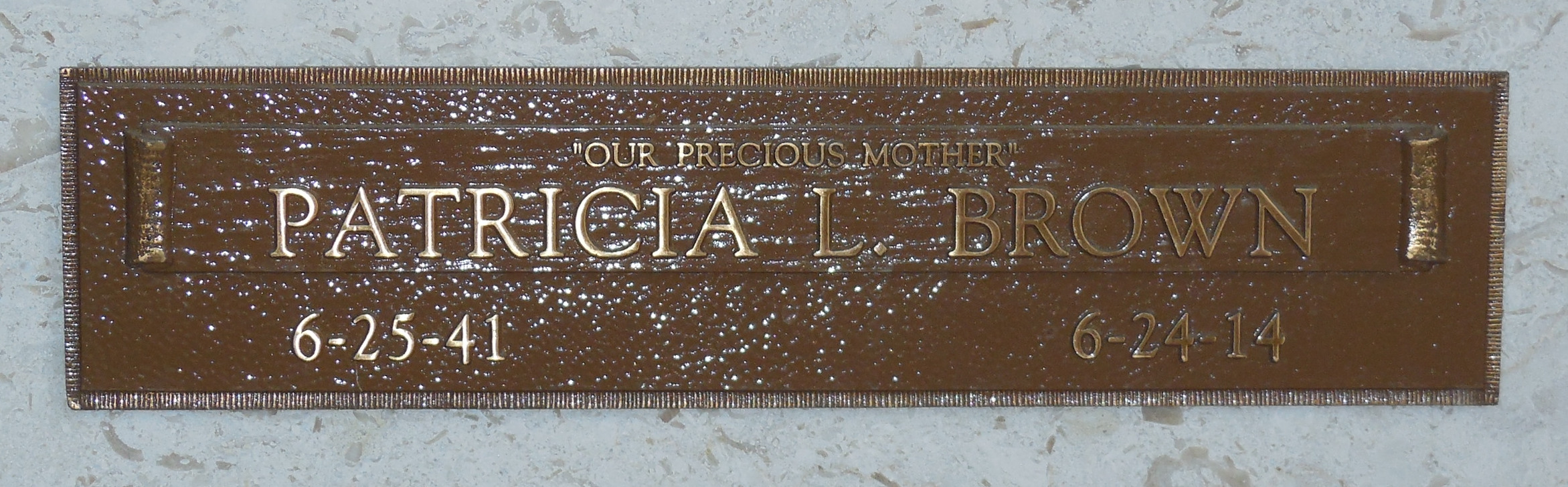 Patricia Louise Brown (1941-2014) - Find A Grave Memorial
