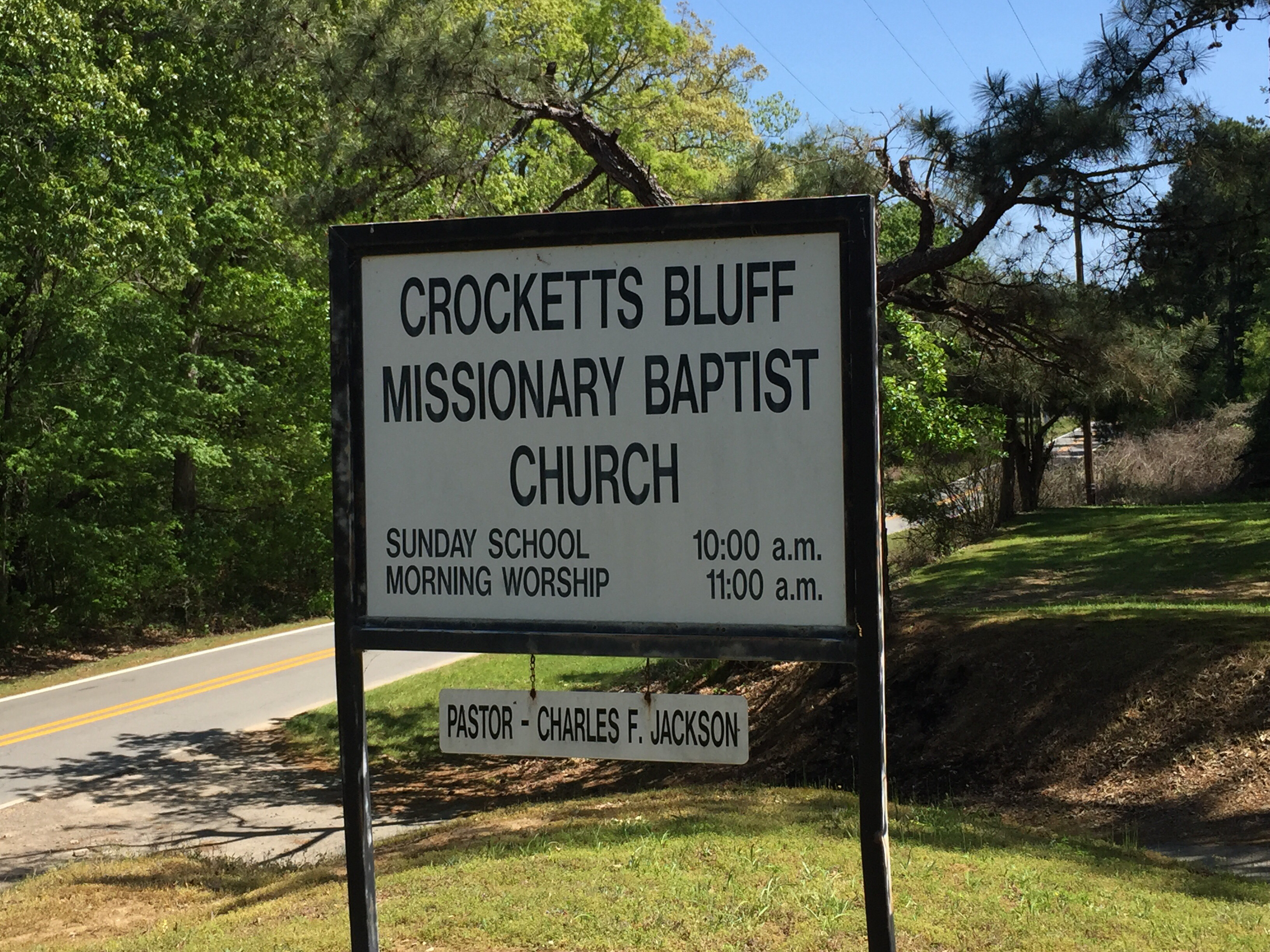 Crocketts bluff arkansas