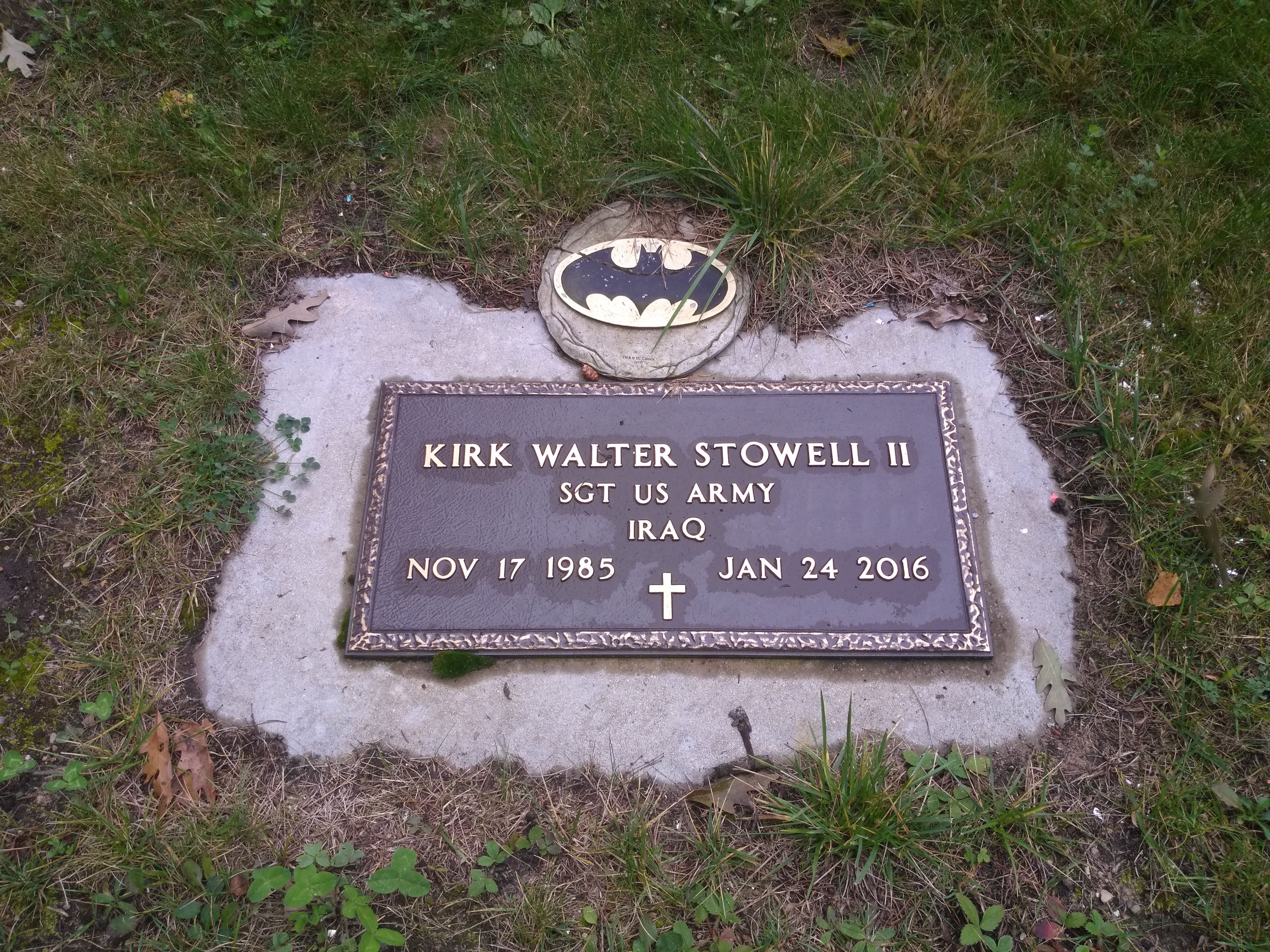 """Kirk Walter """"Teensy"""" Stowell, II (1985-2016) - Find A Grave"""