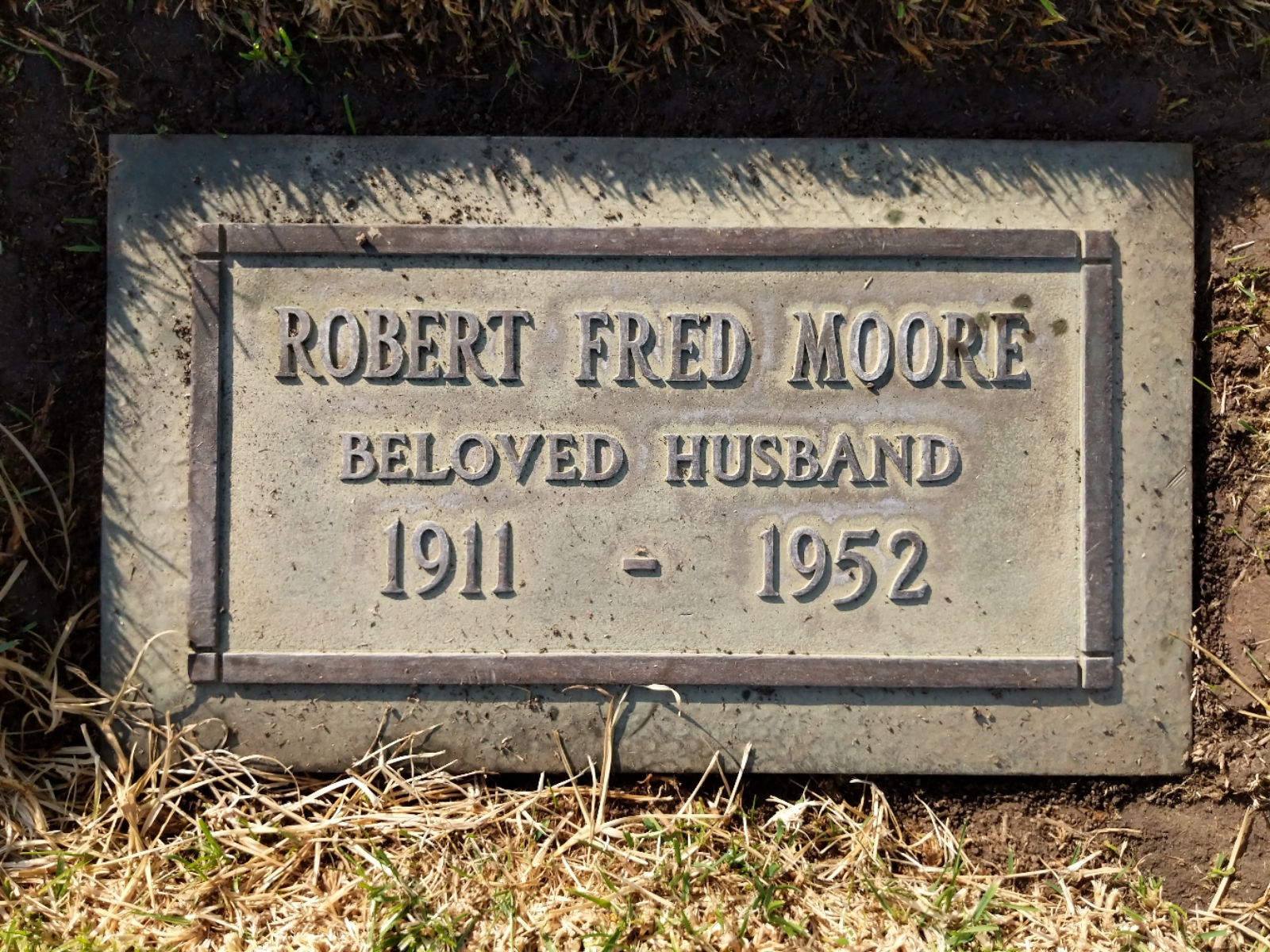 Robert Fred Moore 1911 1952 Find A Grave Memorial