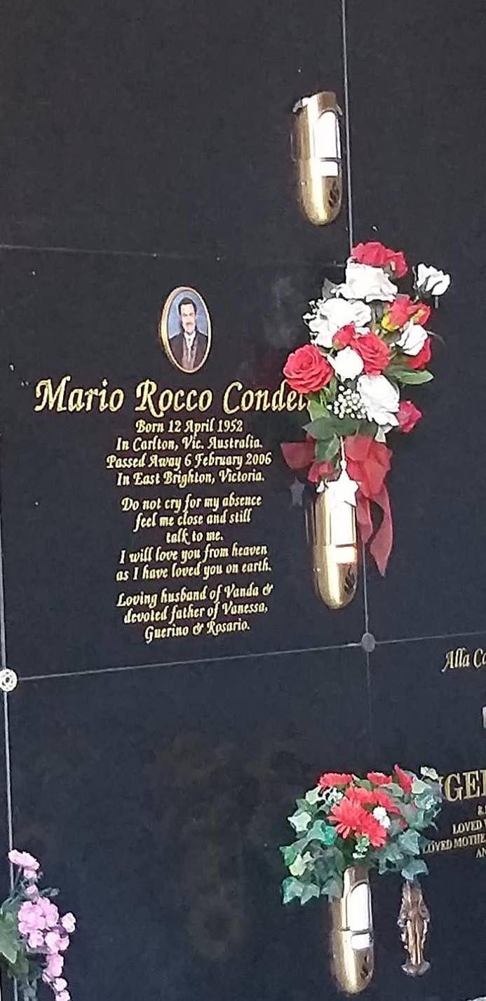 Mario Rocco Condello (1952-2006) - Find A Grave Memorial