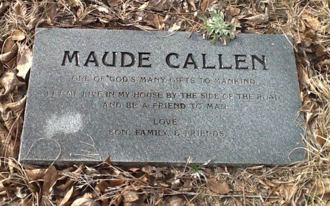 Image result for Maude E. Callen