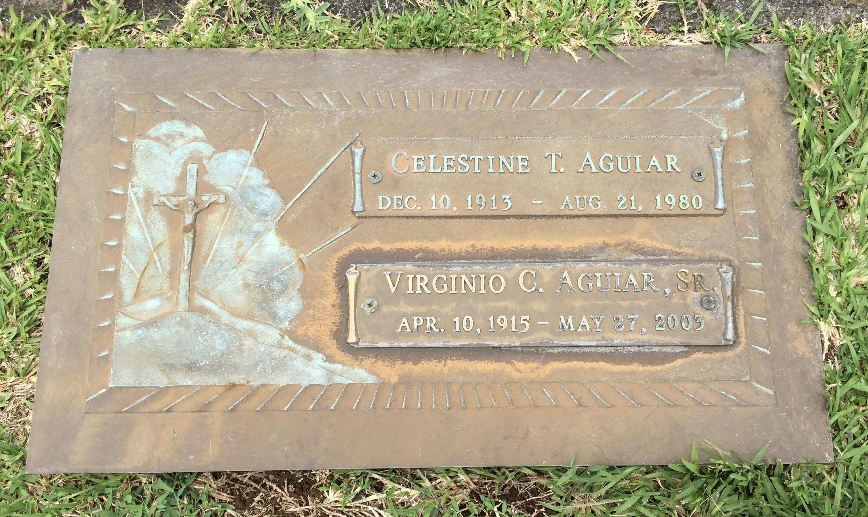 """Virginio Correa """"Gene"""" Aguiar, Sr (1915-2003) - Find A Grave"""