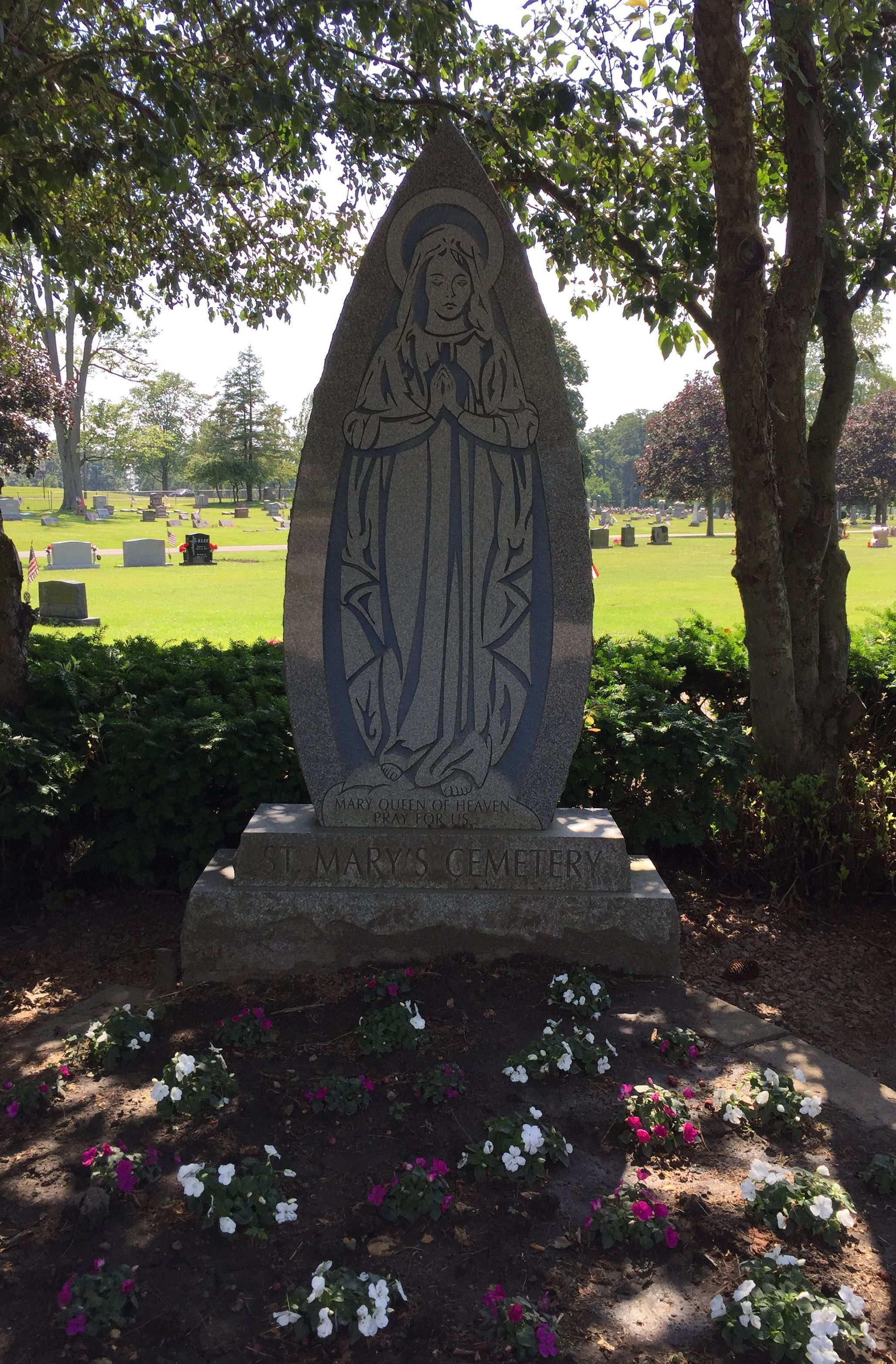 Saint Marys Catholic Cemetery In Marion Ohio Find A Grave Cemetery
