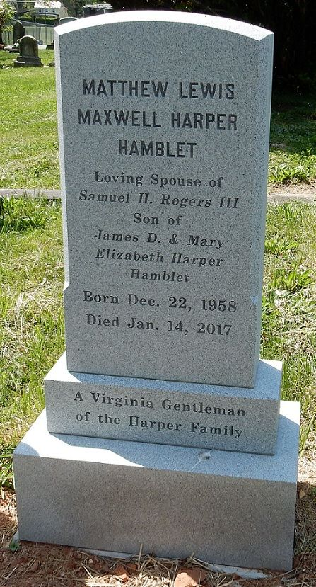 Matthew Lewis Hamblet 1958 2017 Find A Grave Memorial
