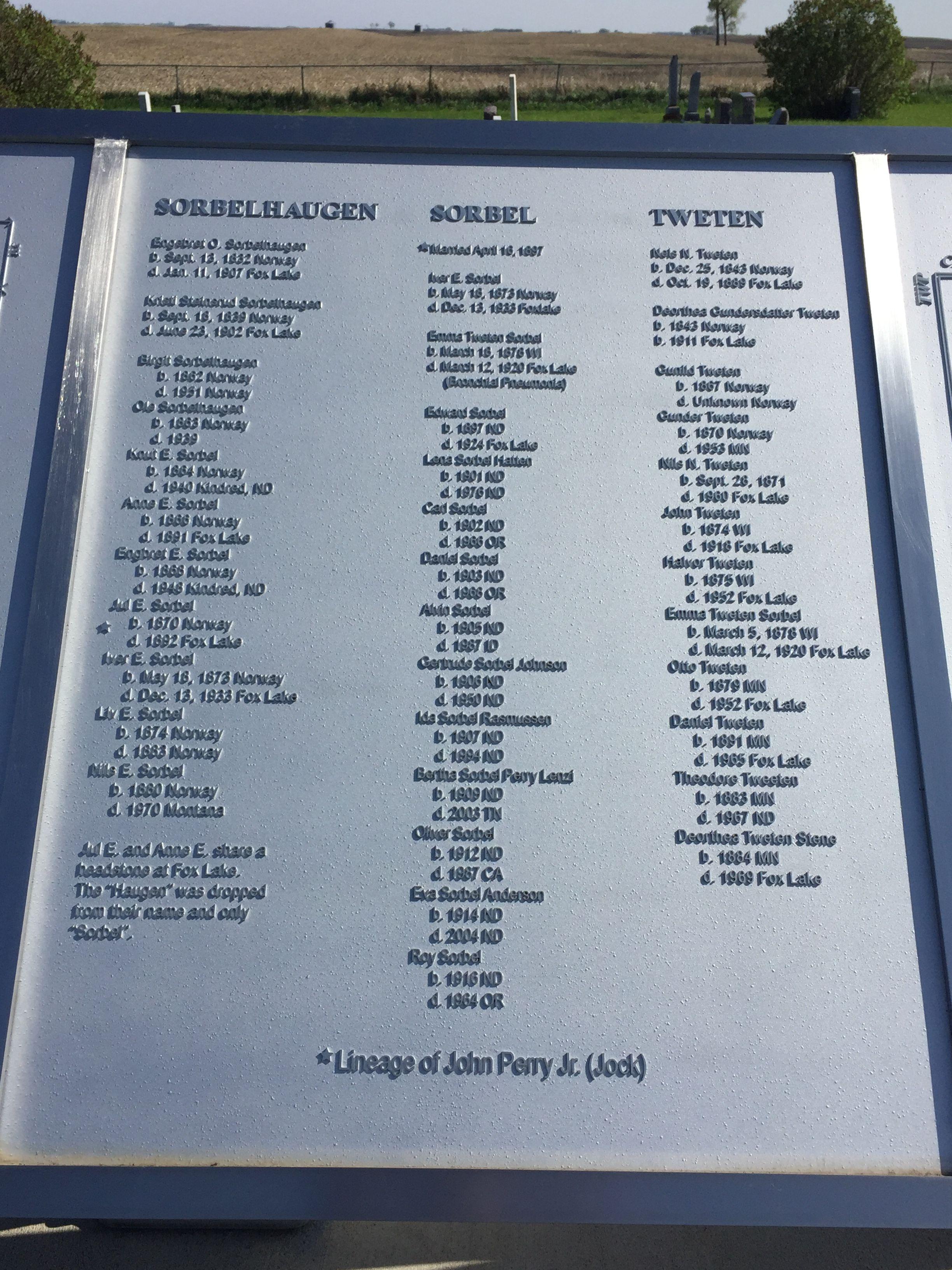 Fox Lake Cemetery in North Dakota - Find A Grave Cemetery