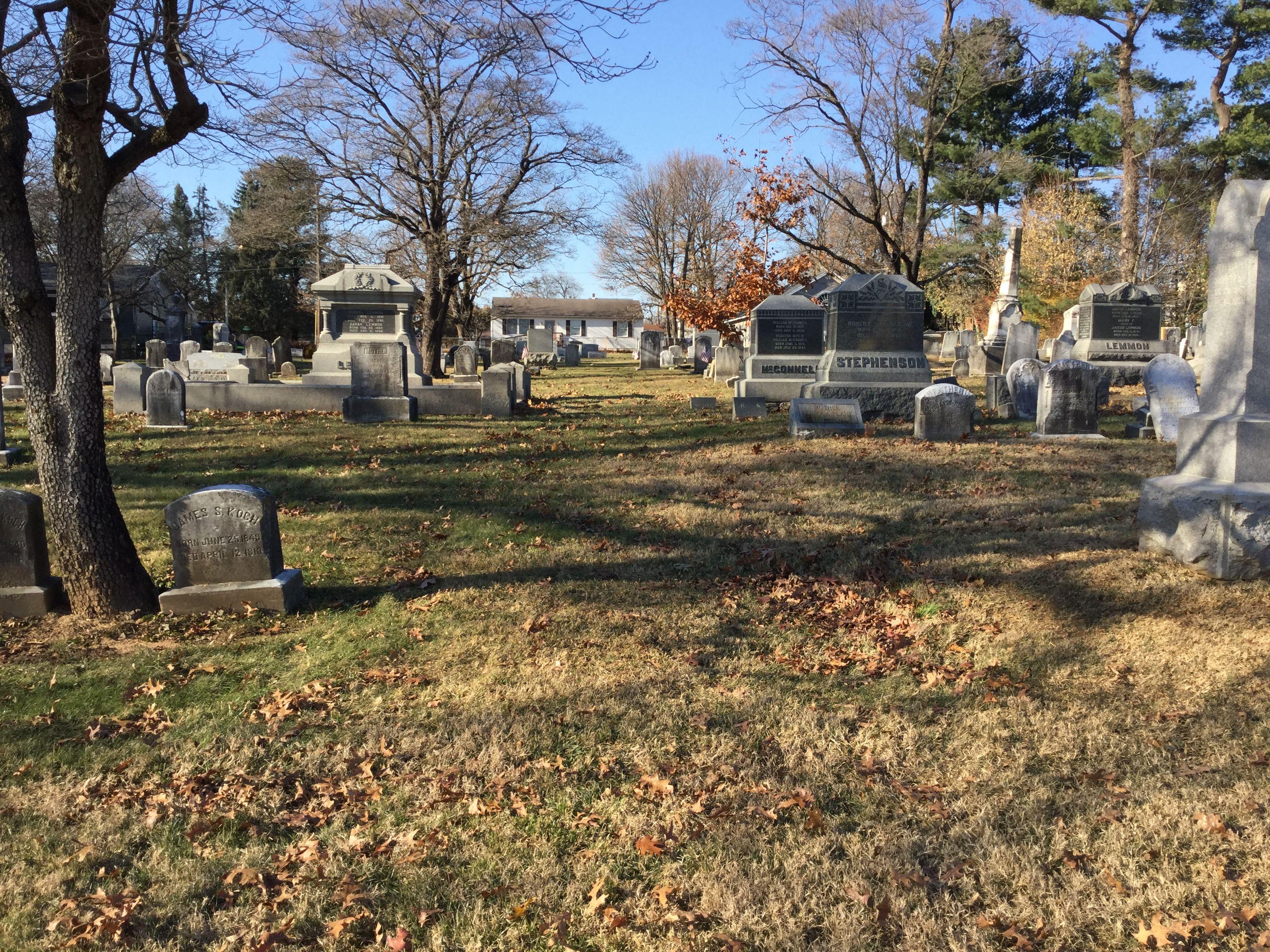Honey Brook Presbyterian Cemetery in Honey Brook Township ...