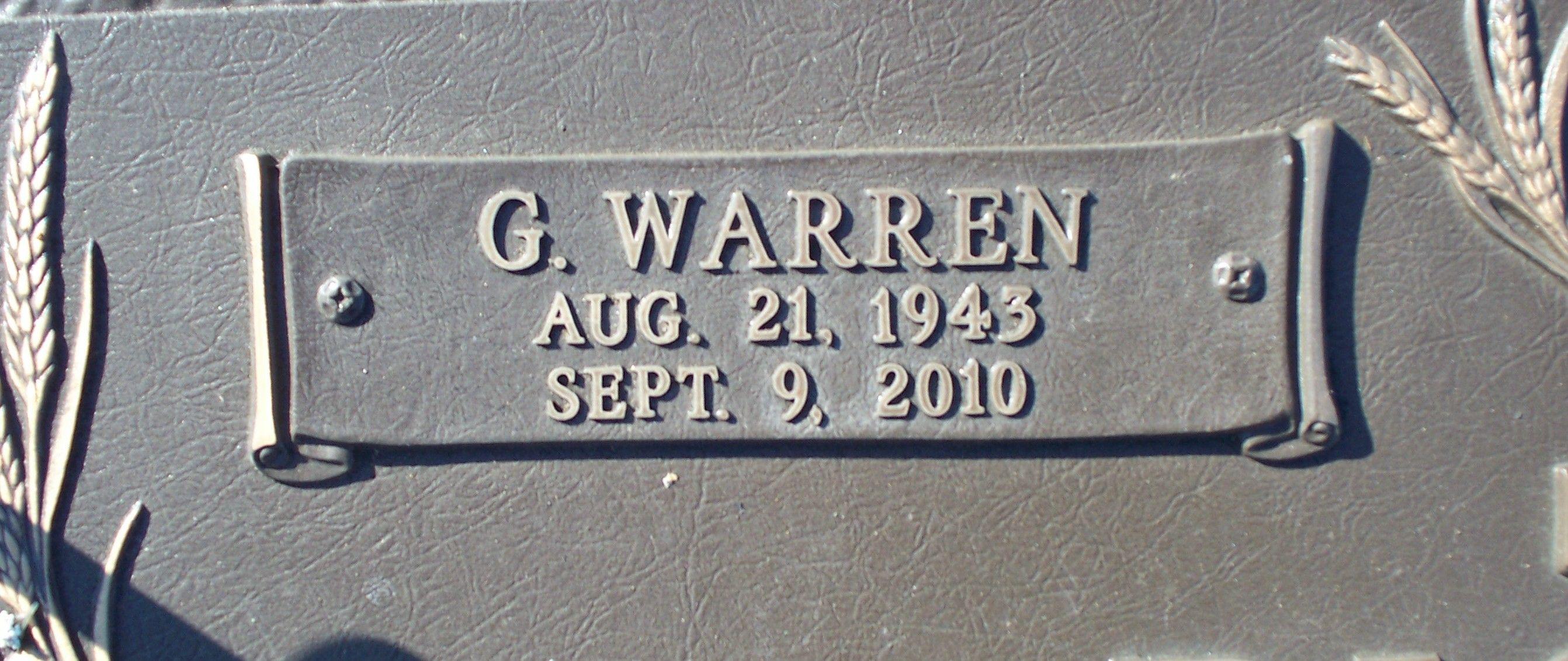 Guy Warren Pickle (1943-2010) - Find A Grave Memorial