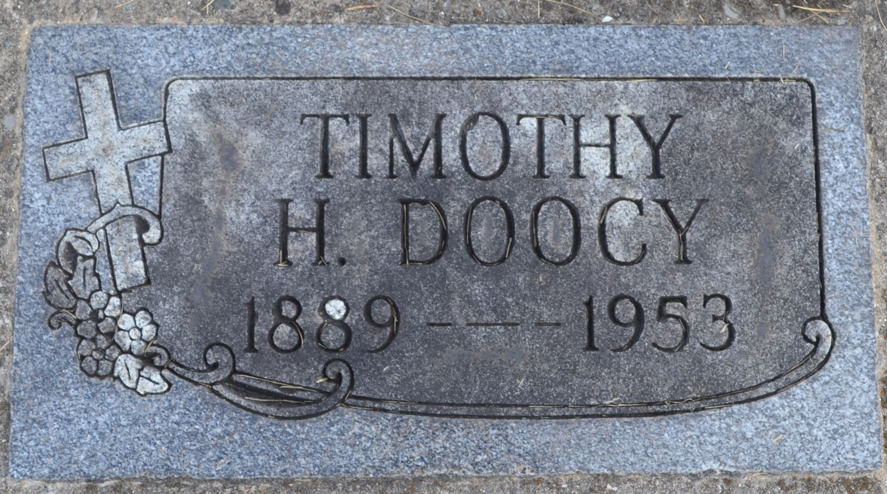 Timothy Hurley Doocy (1889-1953) - Find A Grave Memorial