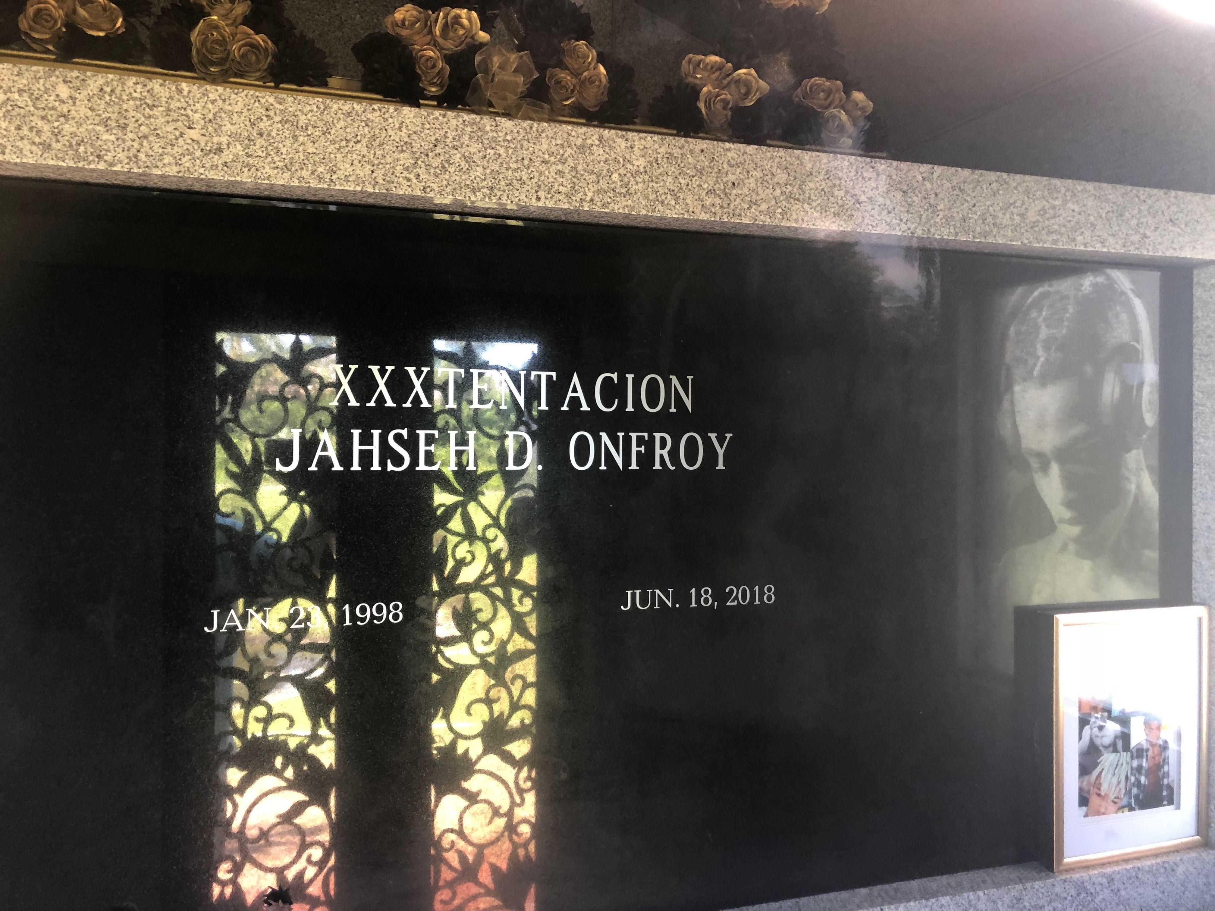 "Jahseh ""XXXTentacion"" Onfroy (1998-2018) - Find A Grave Memorial"