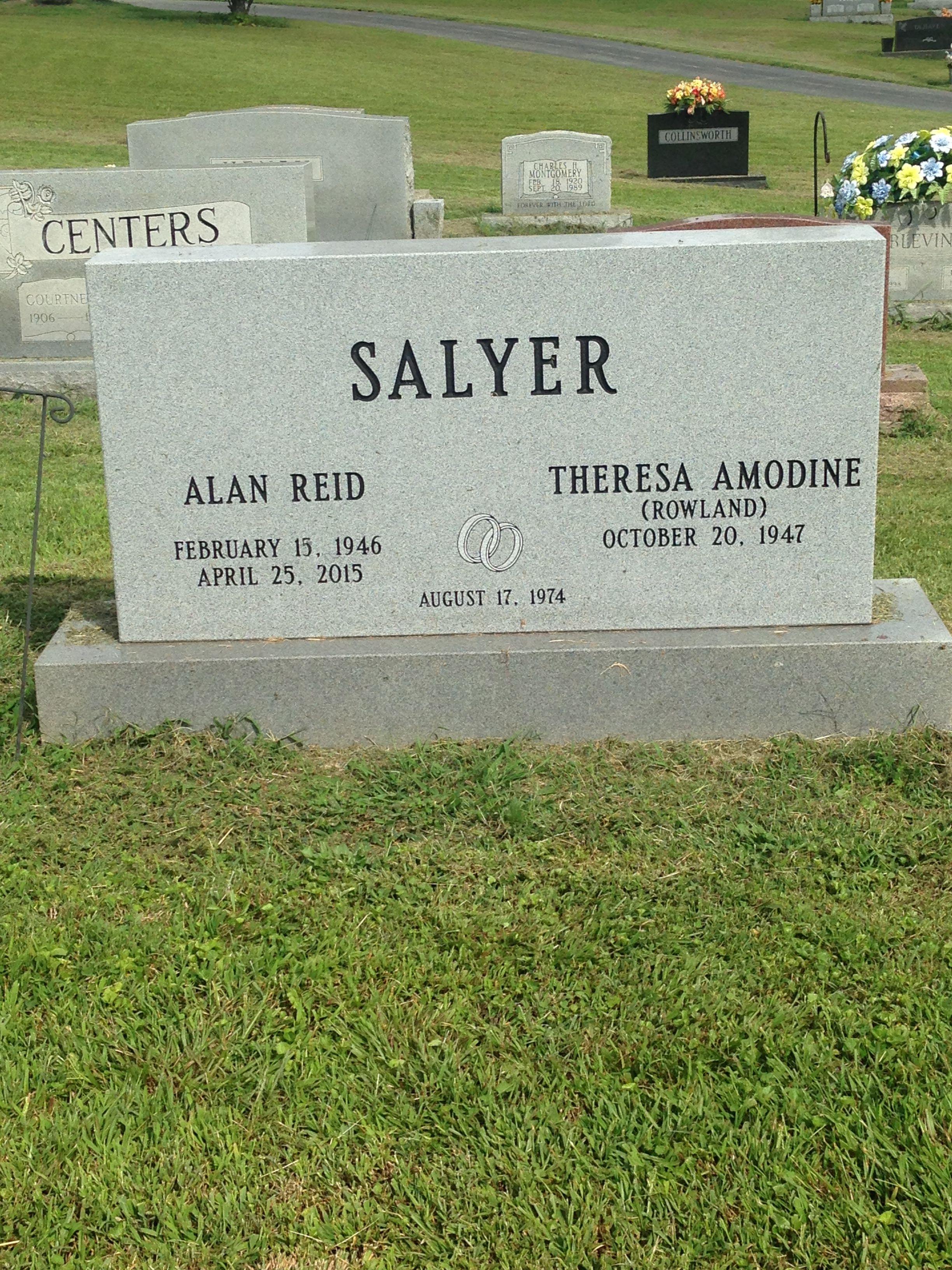 Alan Reid Salyer, I (1946-2015) - Find A Grave Memorial