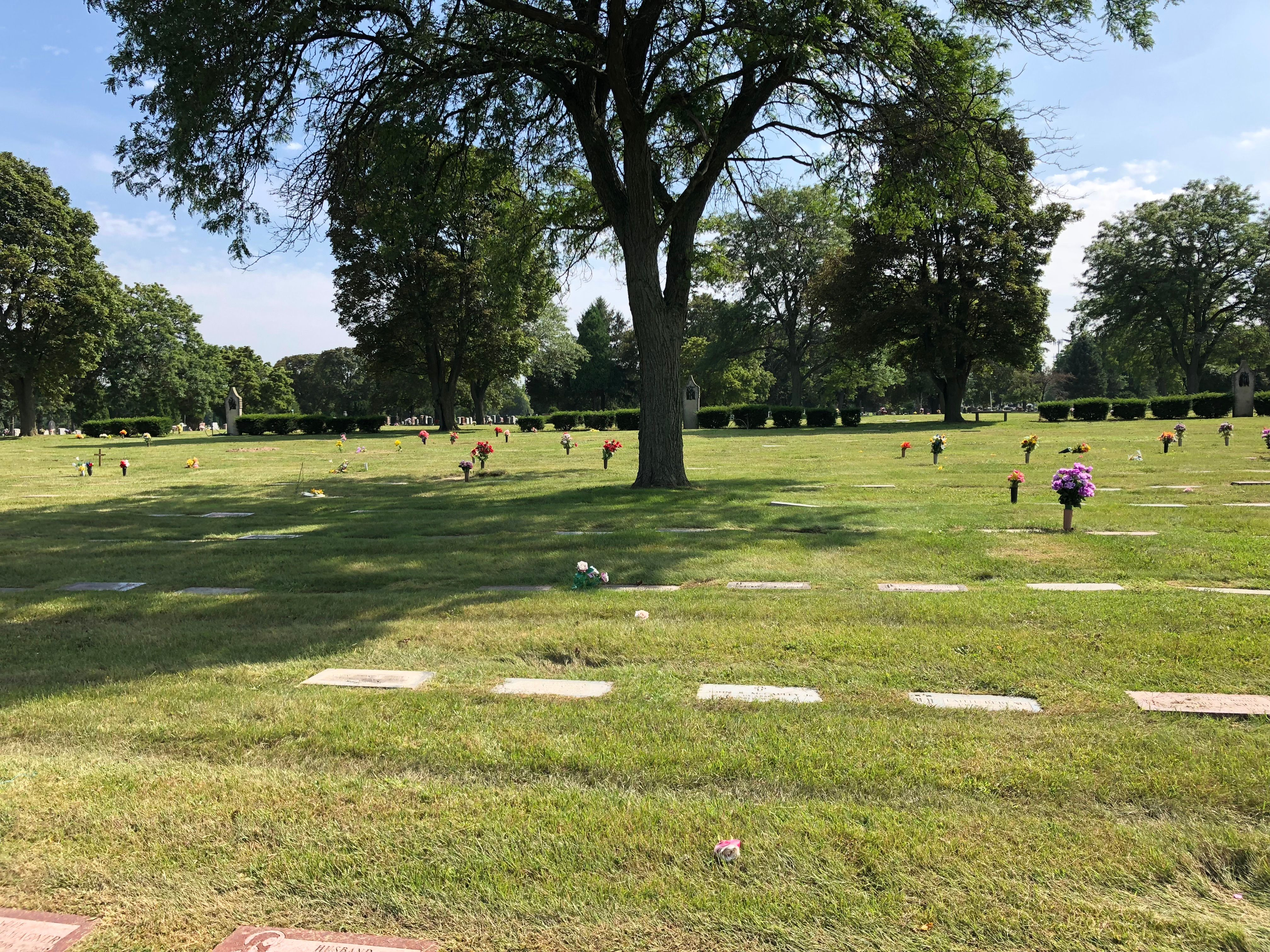 Holy Cross Cemetery and Mausoleum in Milwaukee, Wisconsin