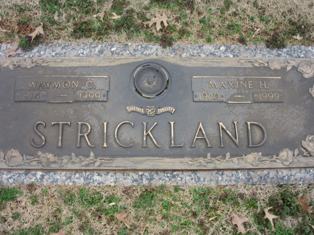 Maxine Laura Holley Strickland (1920-1999) - Find A Grave