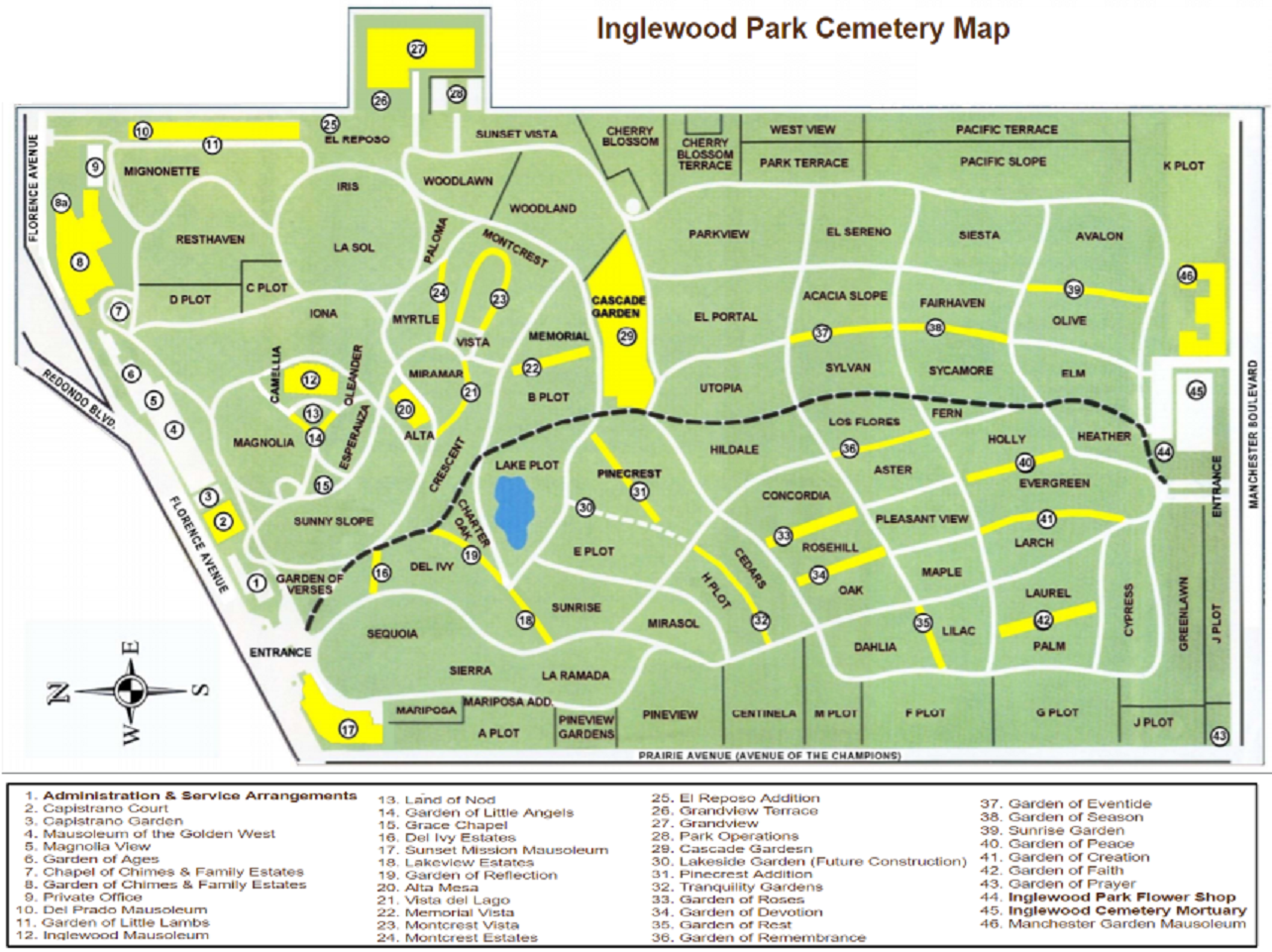 Inglewood Park Cemetery in Inglewood, California - Find A ...