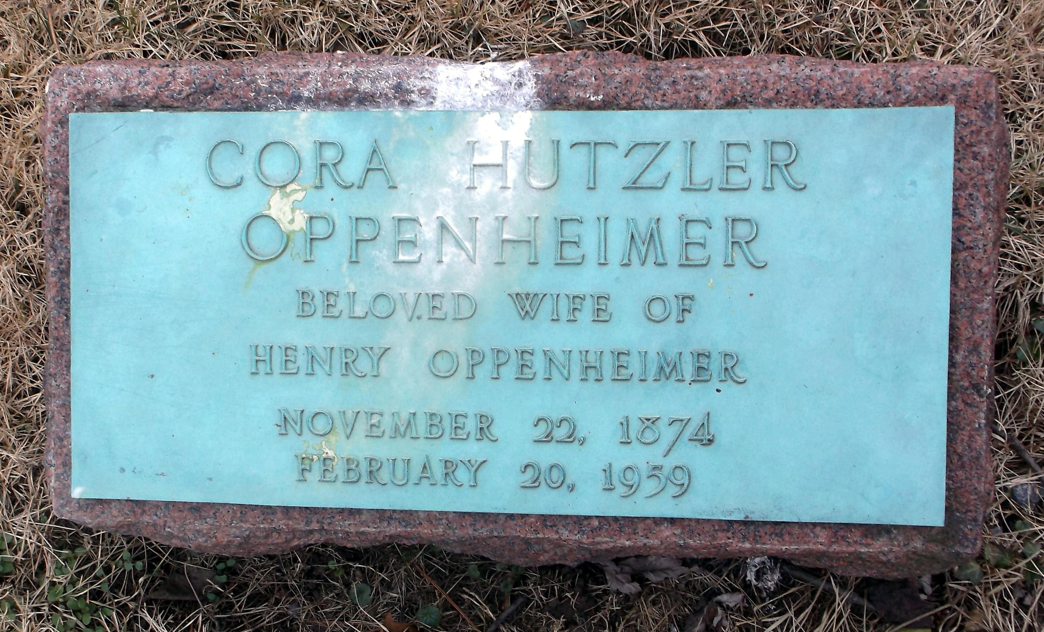 noel 2018 cora Cora Hutzler Oppenheimer (1874 1959)   Find A Grave Memorial noel 2018 cora
