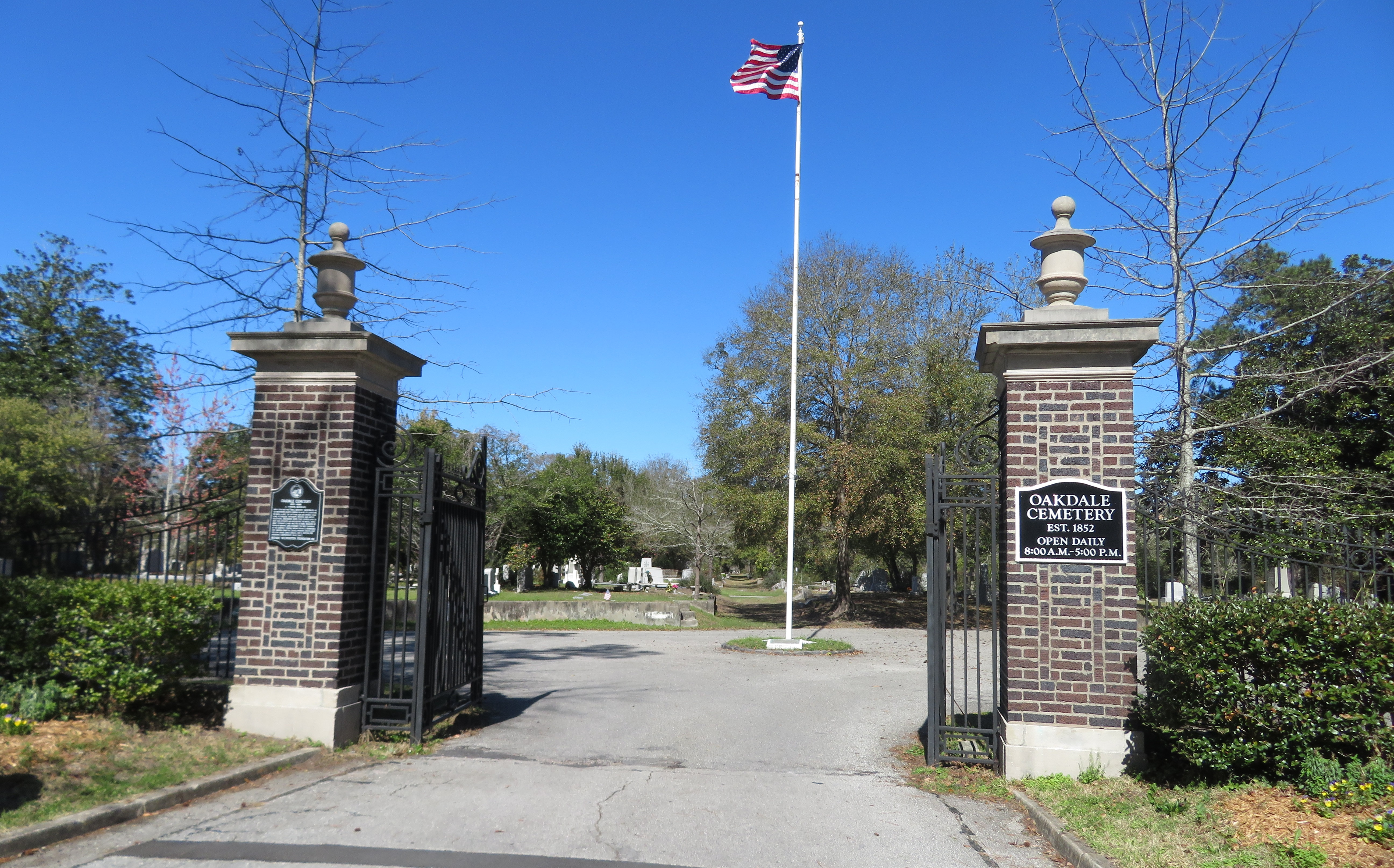 Oakdale Cemetery in Wilmington, North Carolina - Find A