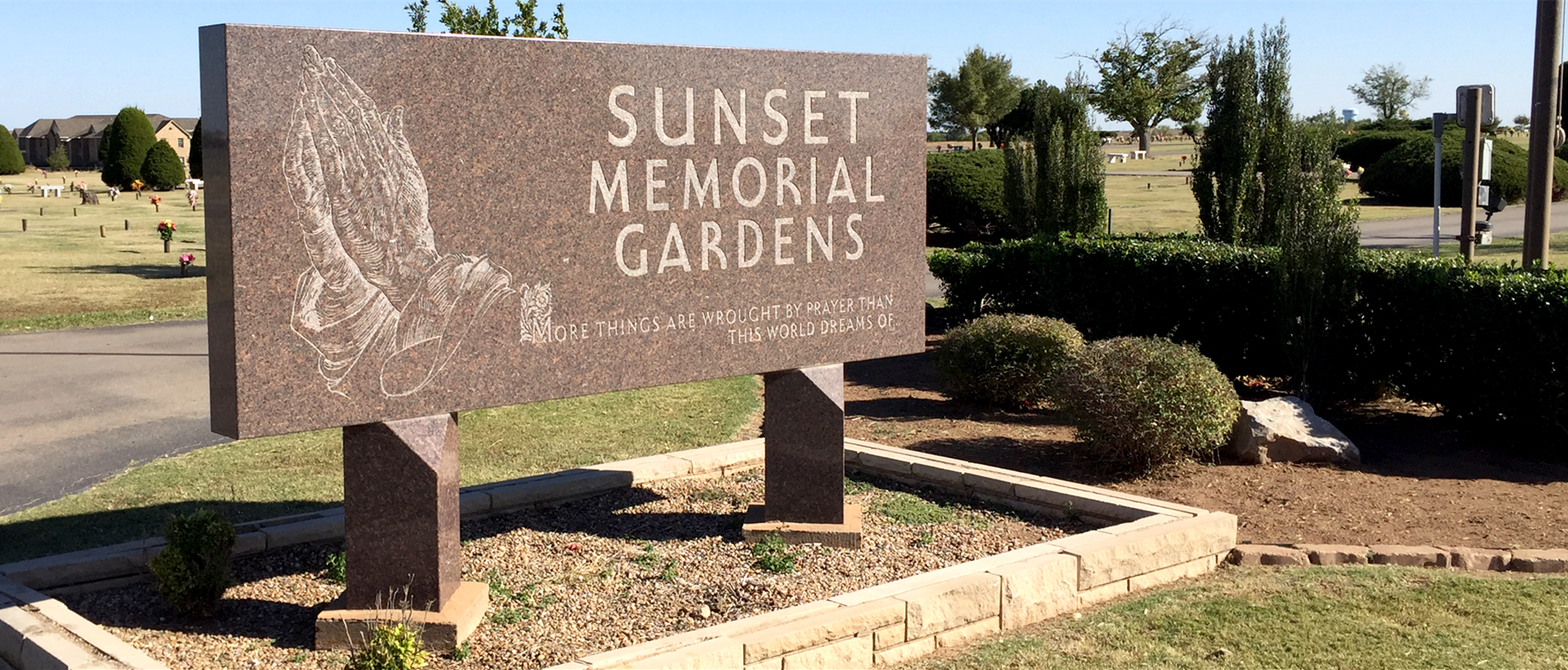 Sunset Memorial Gardens in Lawton, Oklahoma - Find A Grave Cemetery